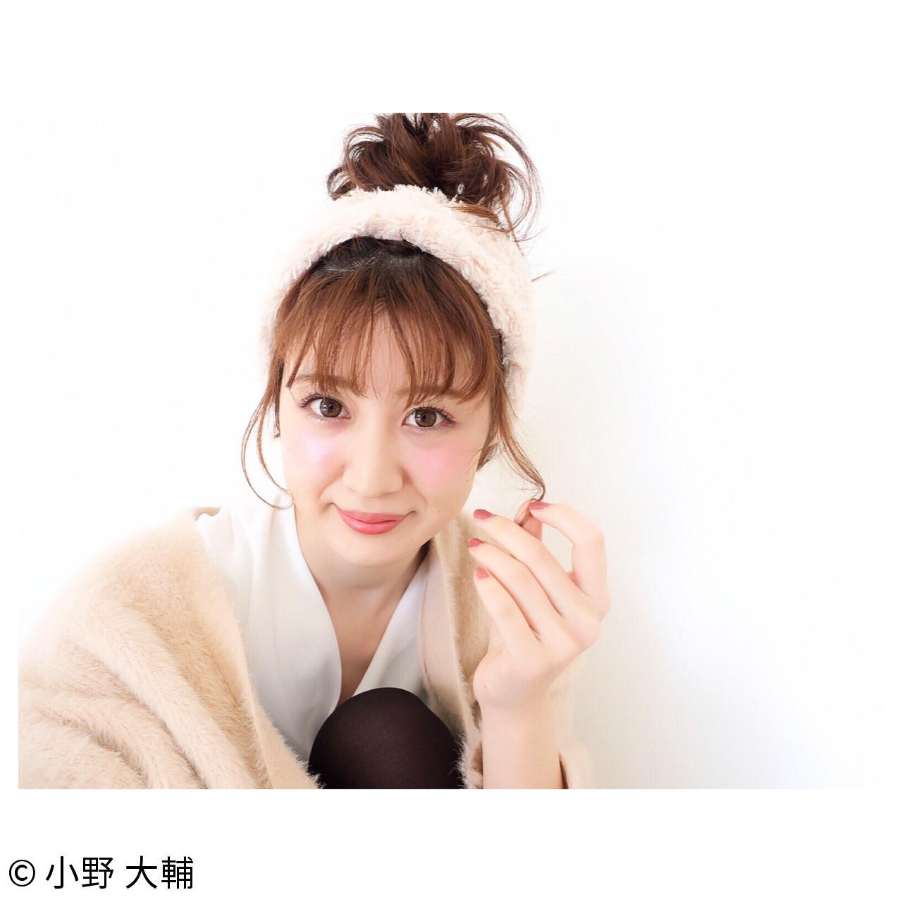 超簡単!オシャレでかわいい♡ヘアバンドを使ったアレンジスタイル 小野 大輔
