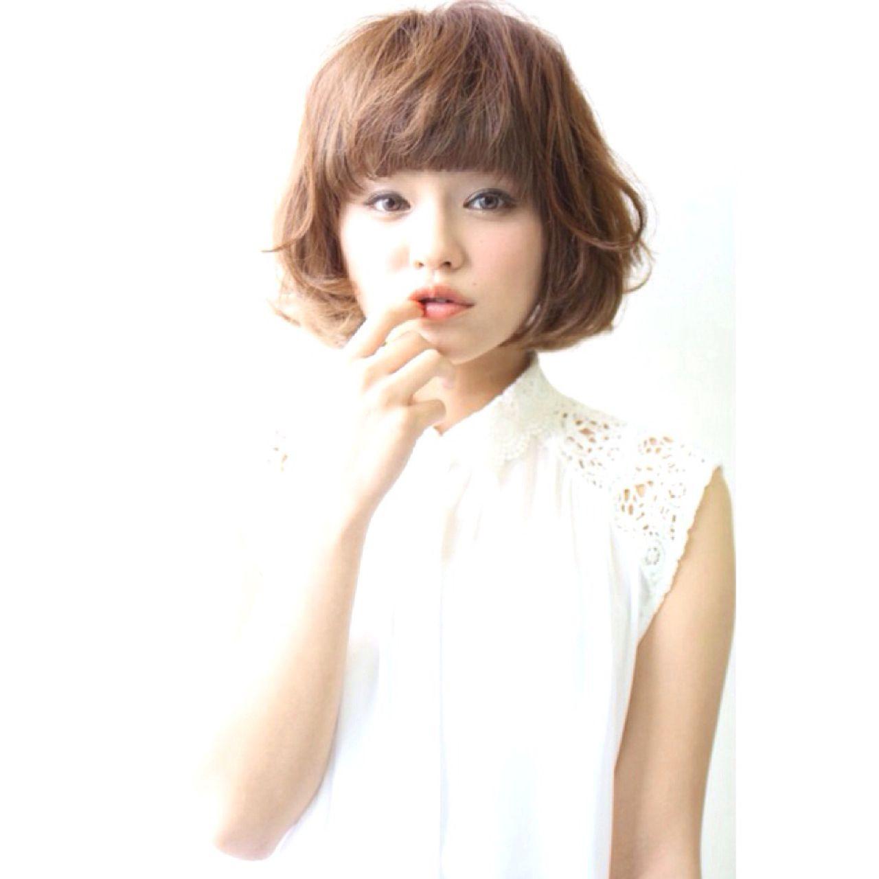 かわいい子はやっている♡ふんわり前髪の作り方と崩れない方法 田中 誠二