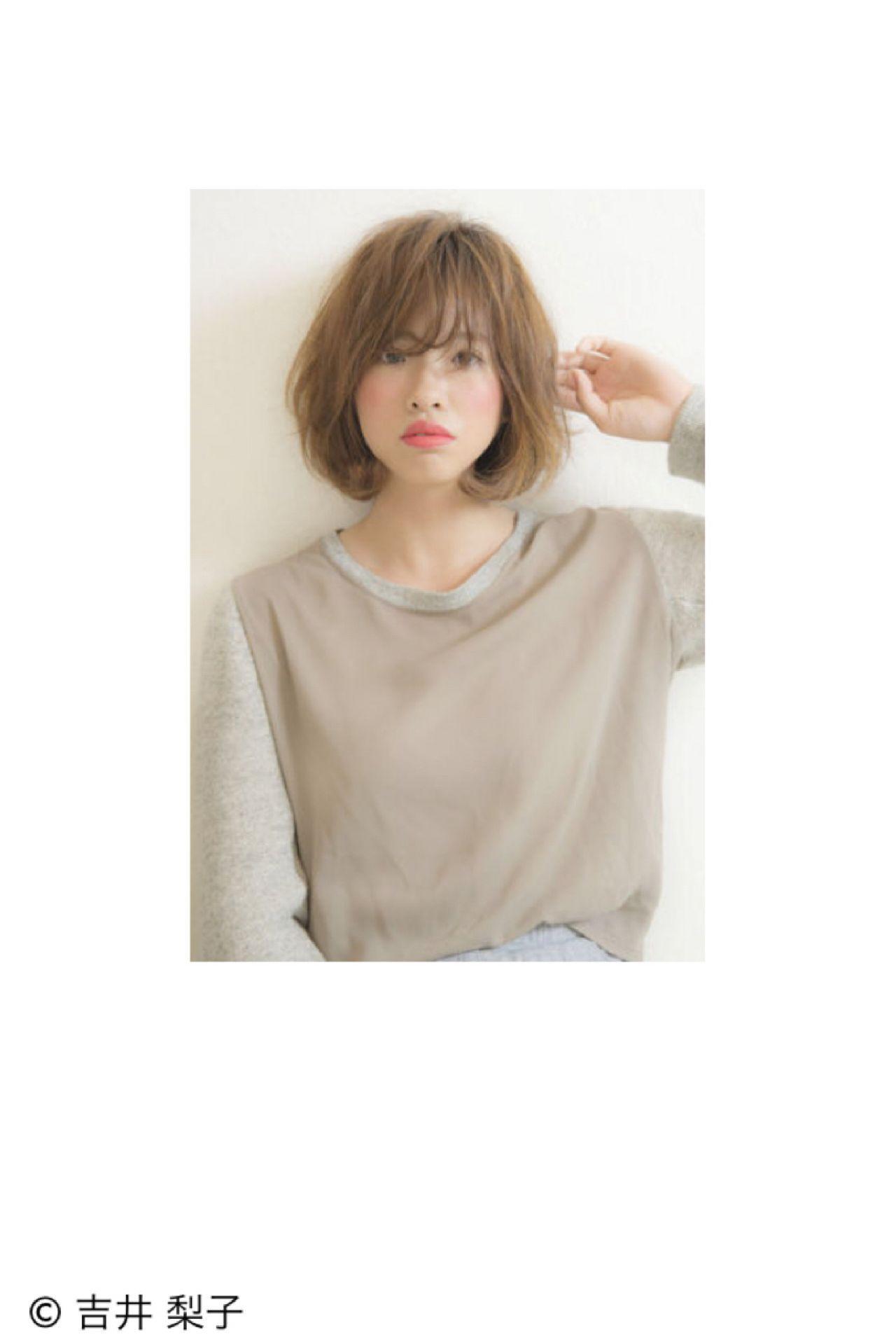 かわいい子はやっている♡ふんわり前髪の作り方と崩れない方法 吉井 梨子