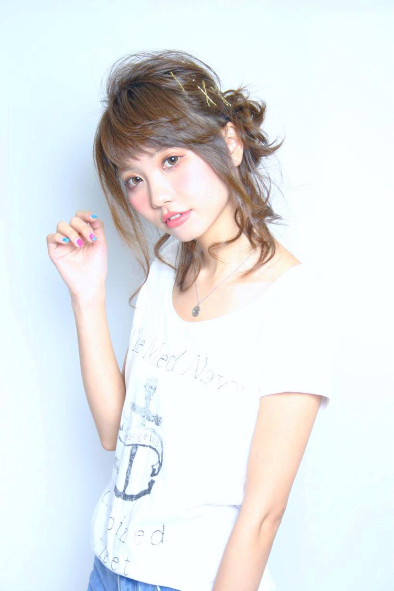 【美容師直伝】ロブがかわいく見える♡おすすめヘアアレンジ集 加藤 明生 | 美容室ISA