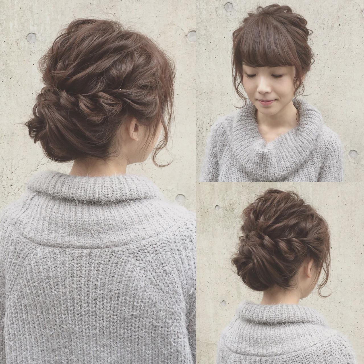 【美容師直伝】ロブがかわいく見える♡おすすめヘアアレンジ集 Kaneko Mayumi | BOTTOMS