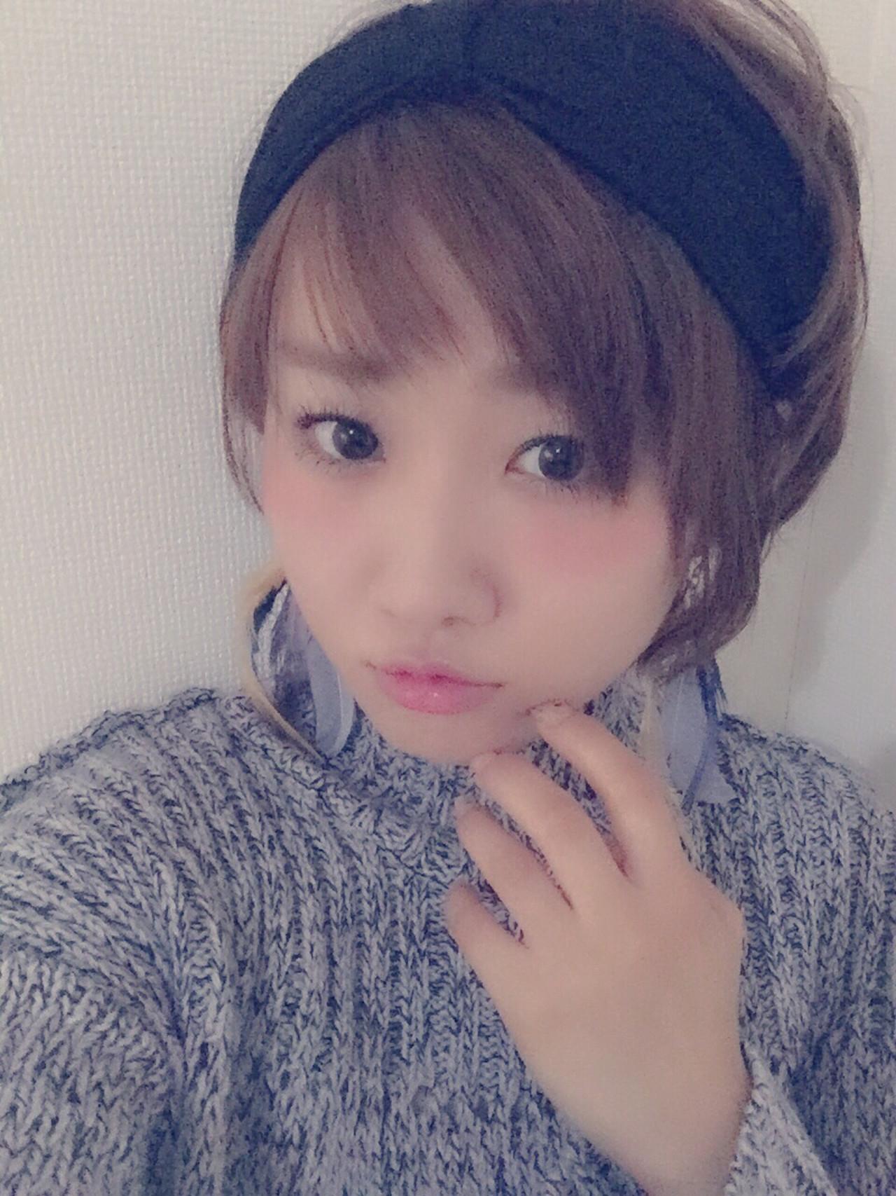 超簡単!オシャレでかわいい♡ヘアバンドを使ったアレンジスタイル Ayumi