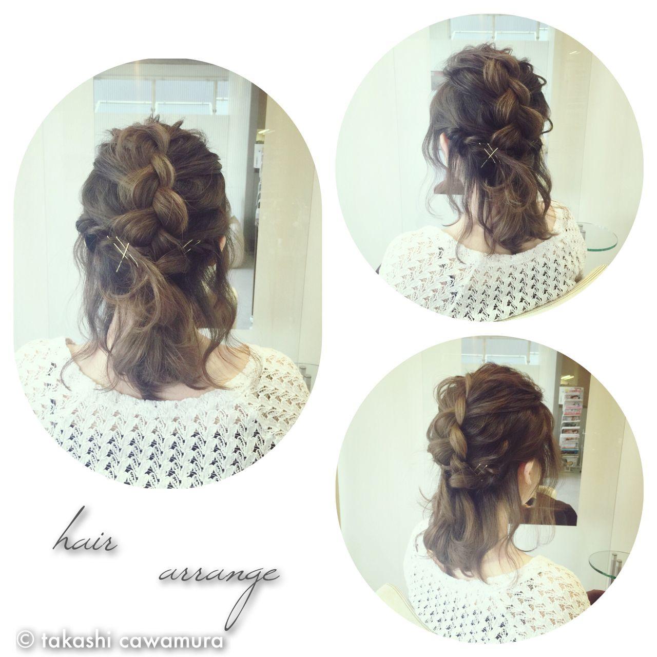 【美容師直伝】ロブがかわいく見える♡おすすめヘアアレンジ集 takashi cawamura | HAIR & MAKE•UP TAXI