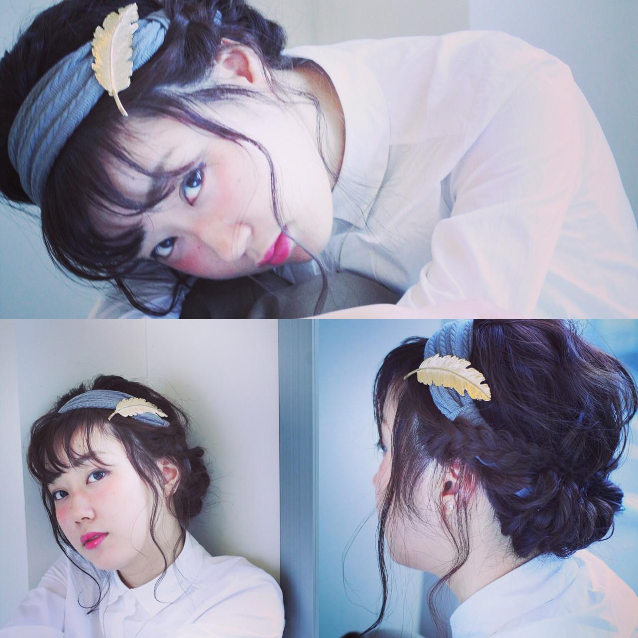 超簡単!オシャレでかわいい♡ヘアバンドを使ったアレンジスタイル コバヤシ アキラ