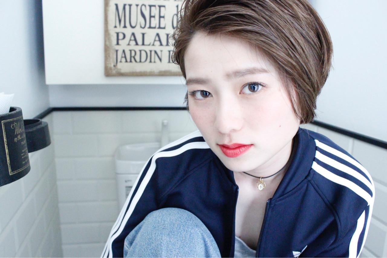 外国人風 ナチュラル アッシュ 外国人風カラー ヘアスタイルや髪型の写真・画像