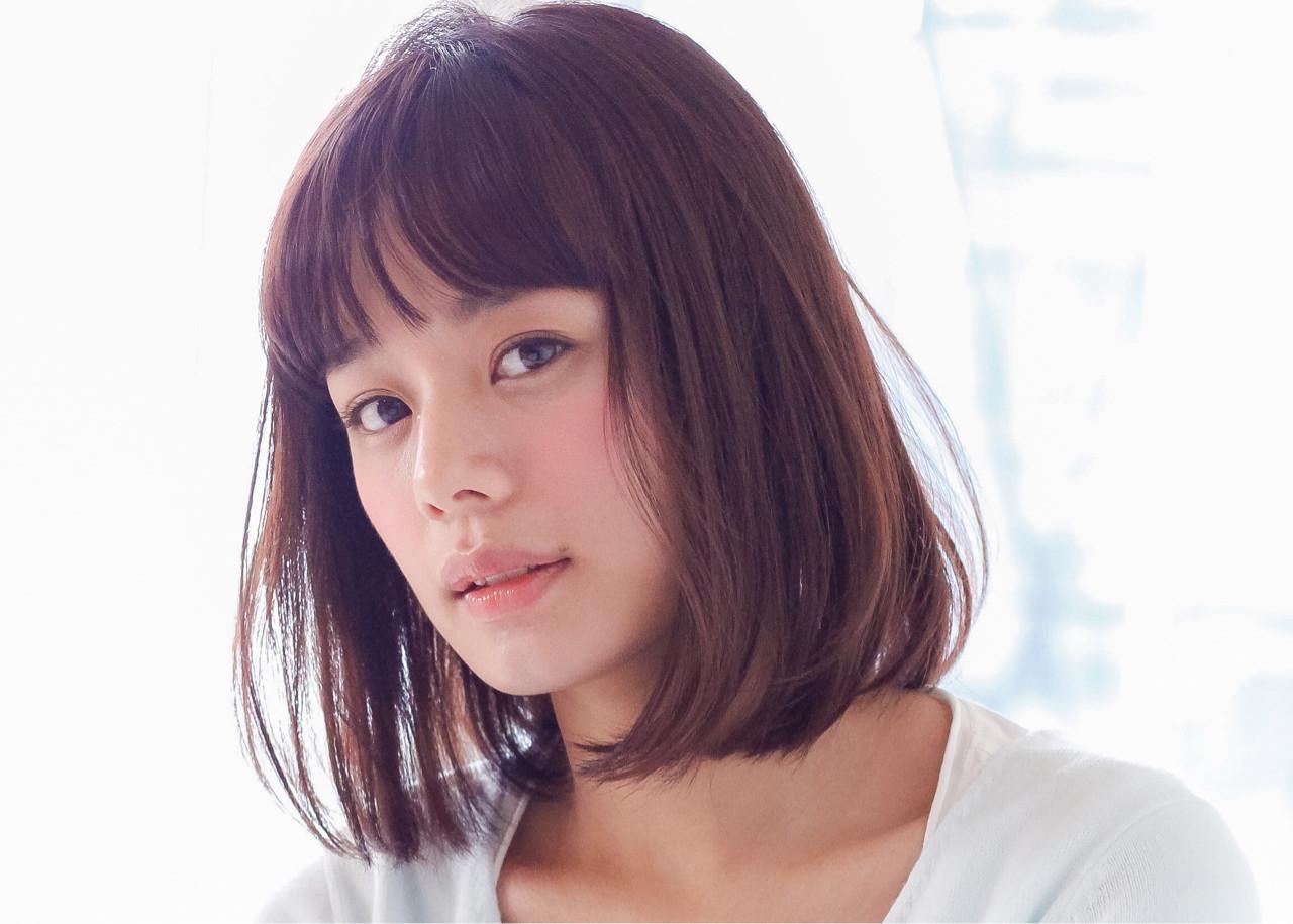 おしゃれさんのこなれヘア♡ブラントカットボブが人気急上昇! 細田真吾
