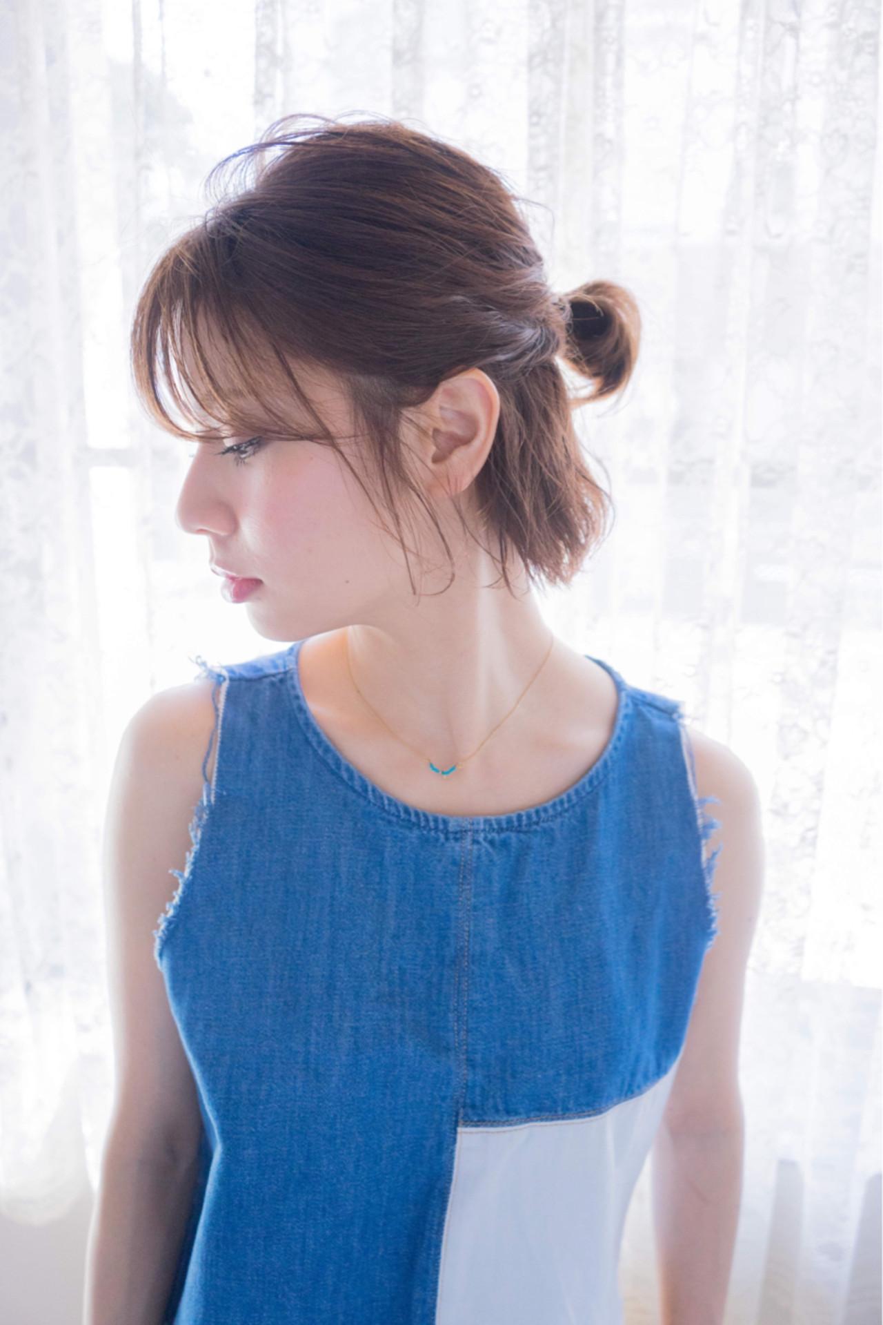 短い髪でも大丈夫!実は簡単なショートアレンジで朝から可愛く大変身♡ 塚由晃司
