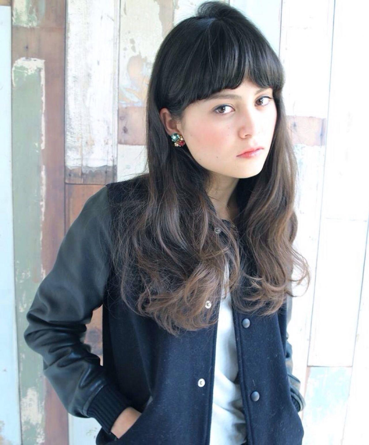 グレージュ系グラデーションで憧れの外国人風ヘアに大変身♡ 高橋 忍  nanuk渋谷店(ナヌーク)