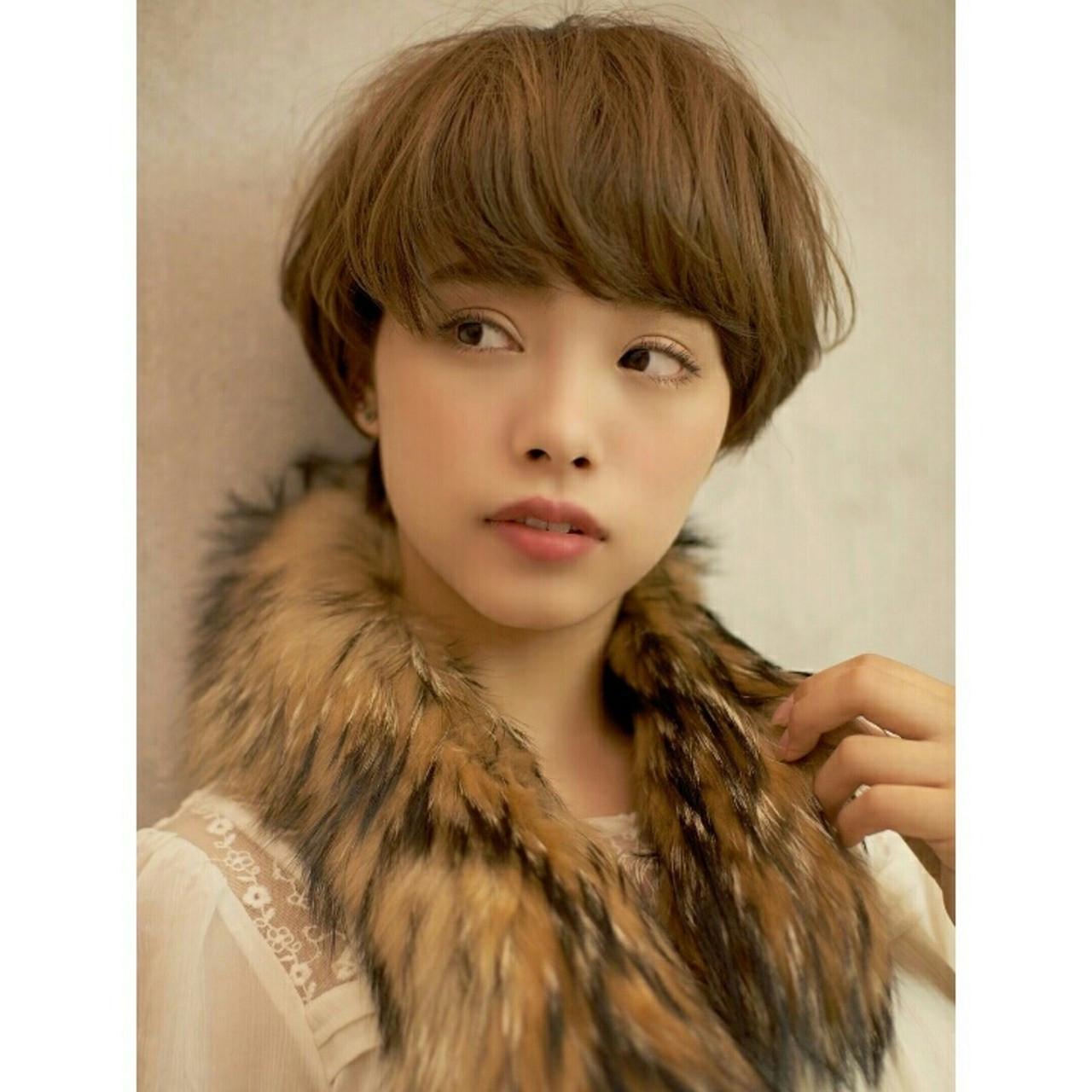 大人かわいい 小顔 こなれ感 大人女子 ヘアスタイルや髪型の写真・画像