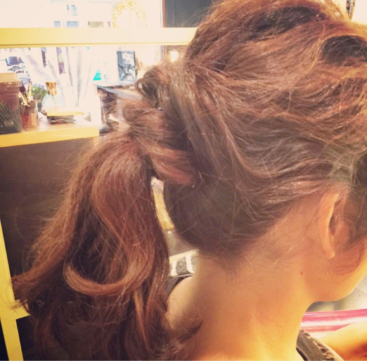 大人かわいい フェミニン ゆるふわ ストリート ヘアスタイルや髪型の写真・画像