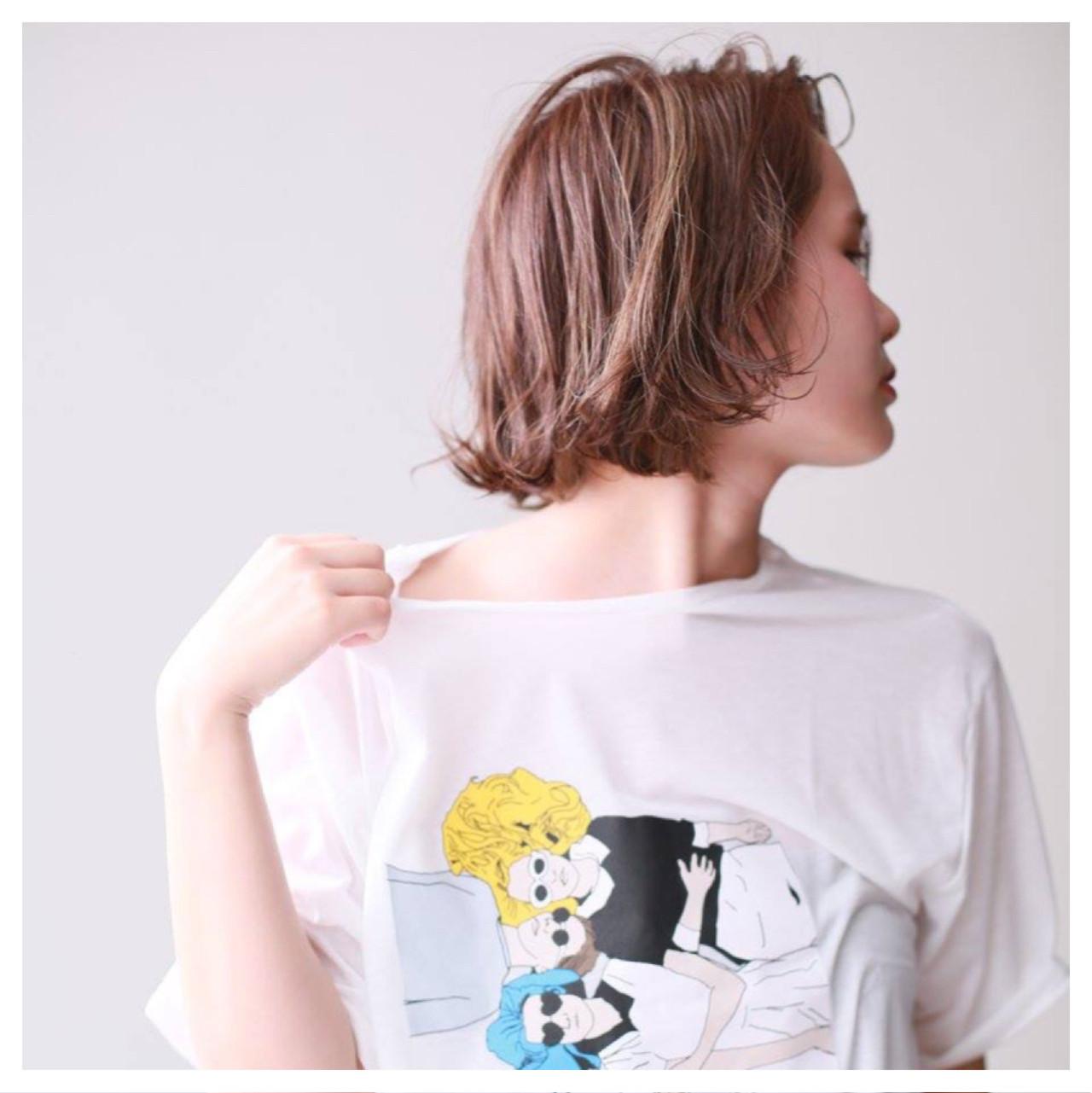 おしゃれさんのこなれヘア♡ブラントカットボブが人気急上昇! megu
