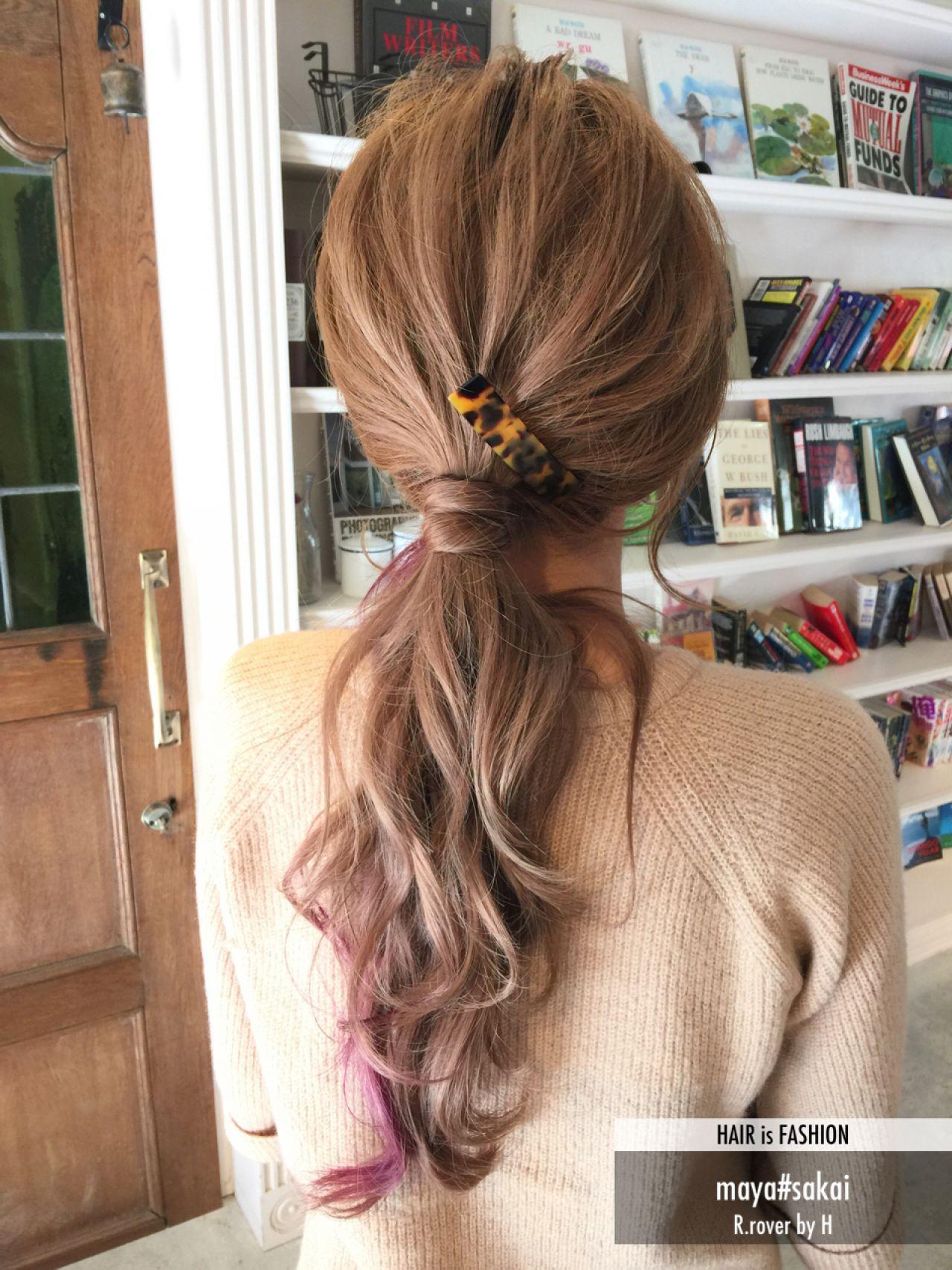【ロングさん向け】髪が長いからこそ楽しむべき♪ヘアアレンジ12選 maya#sakai