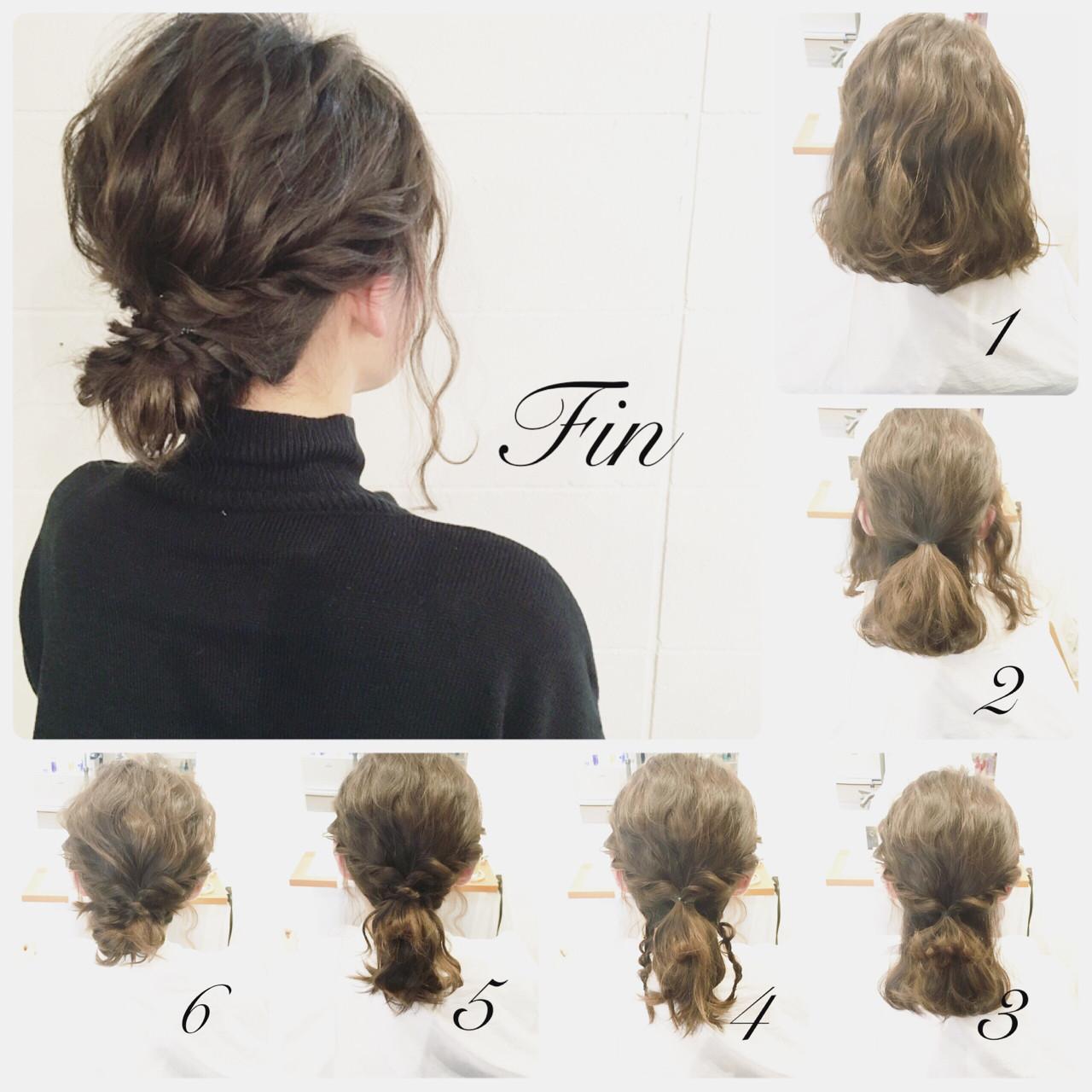結婚式・二次会の髪型♡自分で簡単にしたい!~ヘアアレンジ
