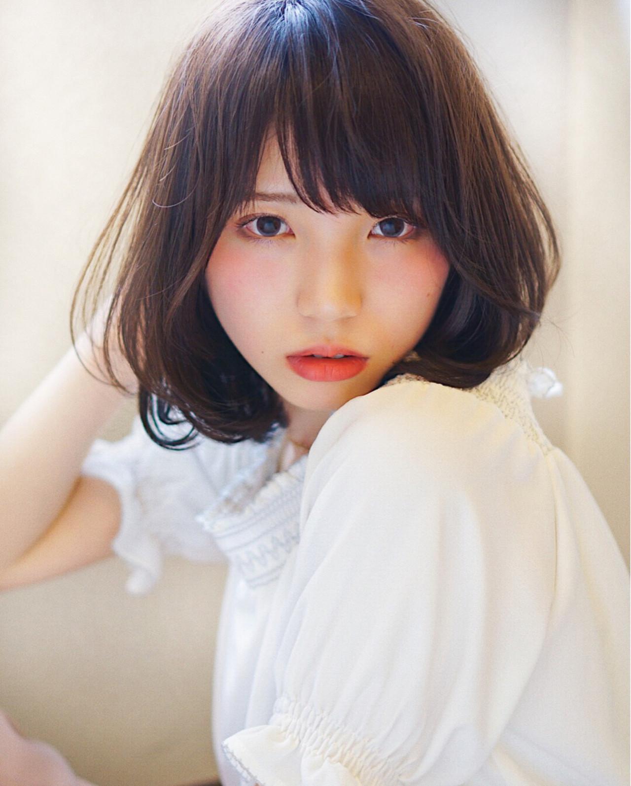 上品な色っぽ可愛さに誰もが夢中!大人女子にはAラインパーマがすてき♡ 紫牟田 慎