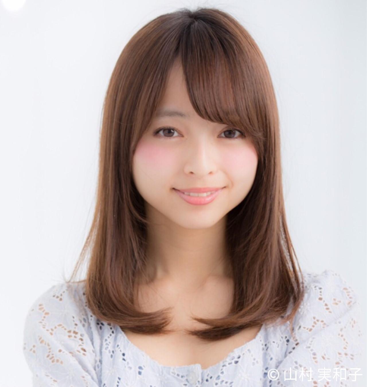 髪型で魅せる大人レディの艶やかさ。アラサー女子に贈るセミロング講座 山村 実和子