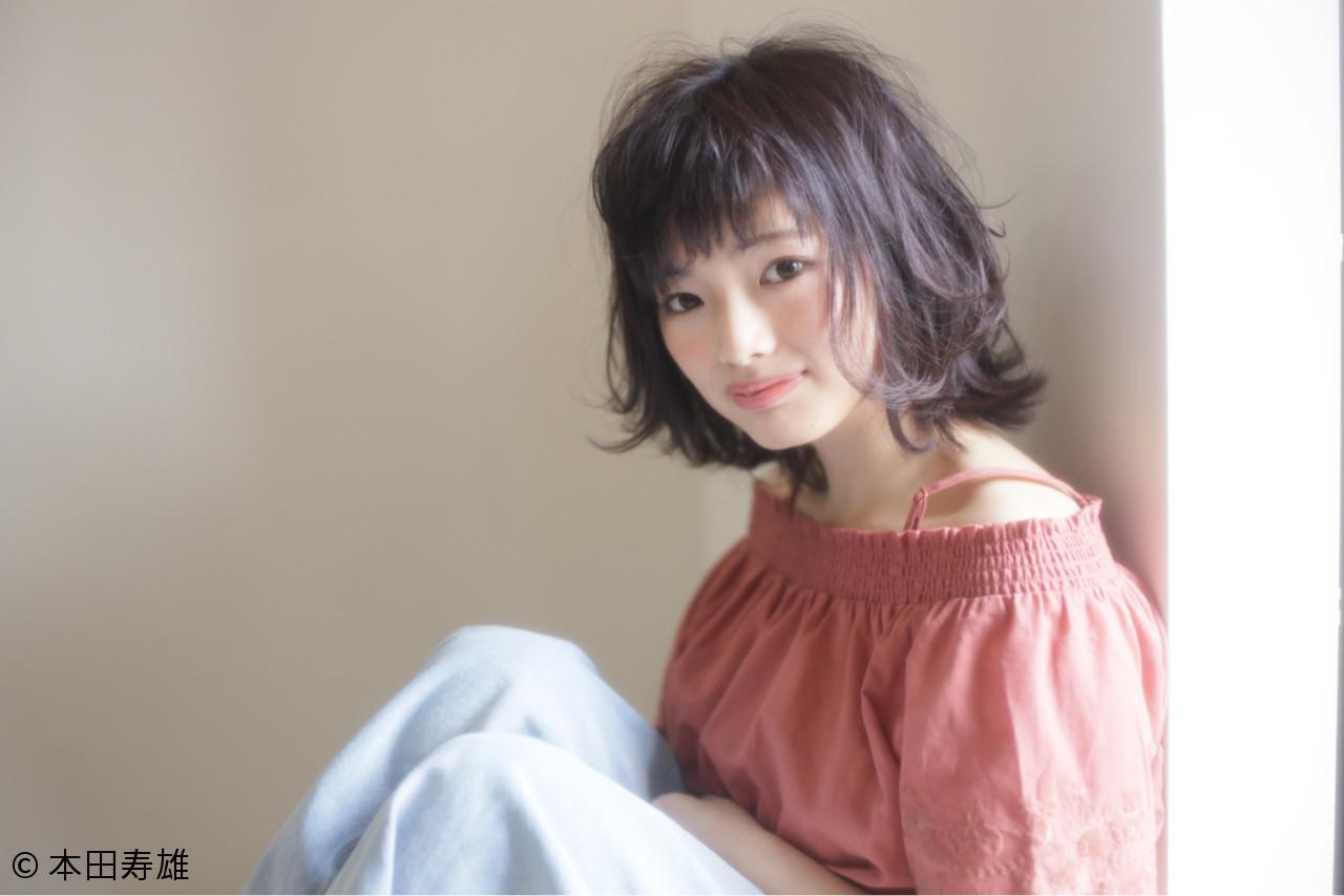 可愛くて、そして色っぽい。アラサー女子の魅力がボブスタイルで花開く 本田寿雄 | kith.