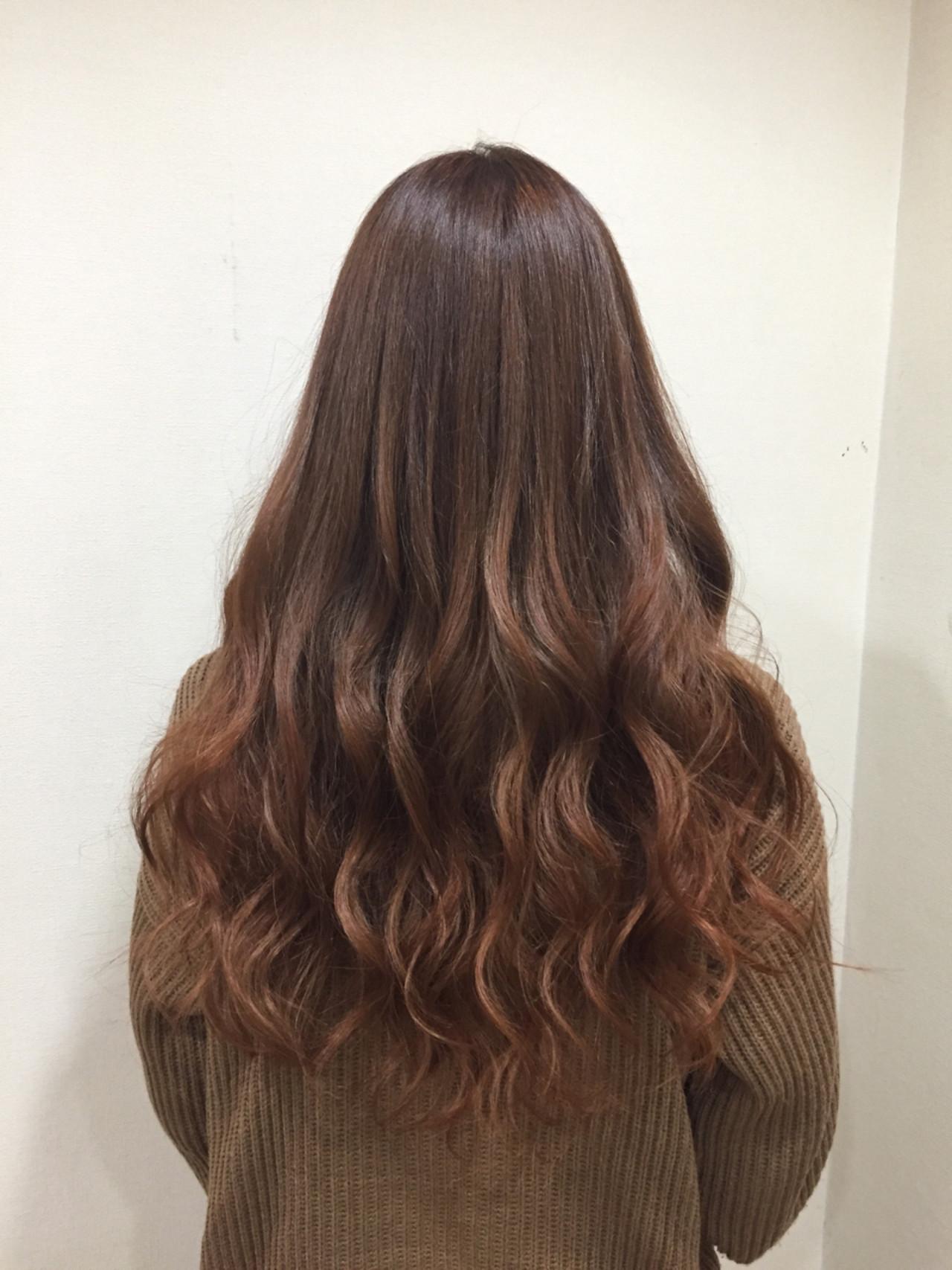 グラデーションカラー 外国人風カラー 艶髪 ストリート ヘアスタイルや髪型の写真・画像
