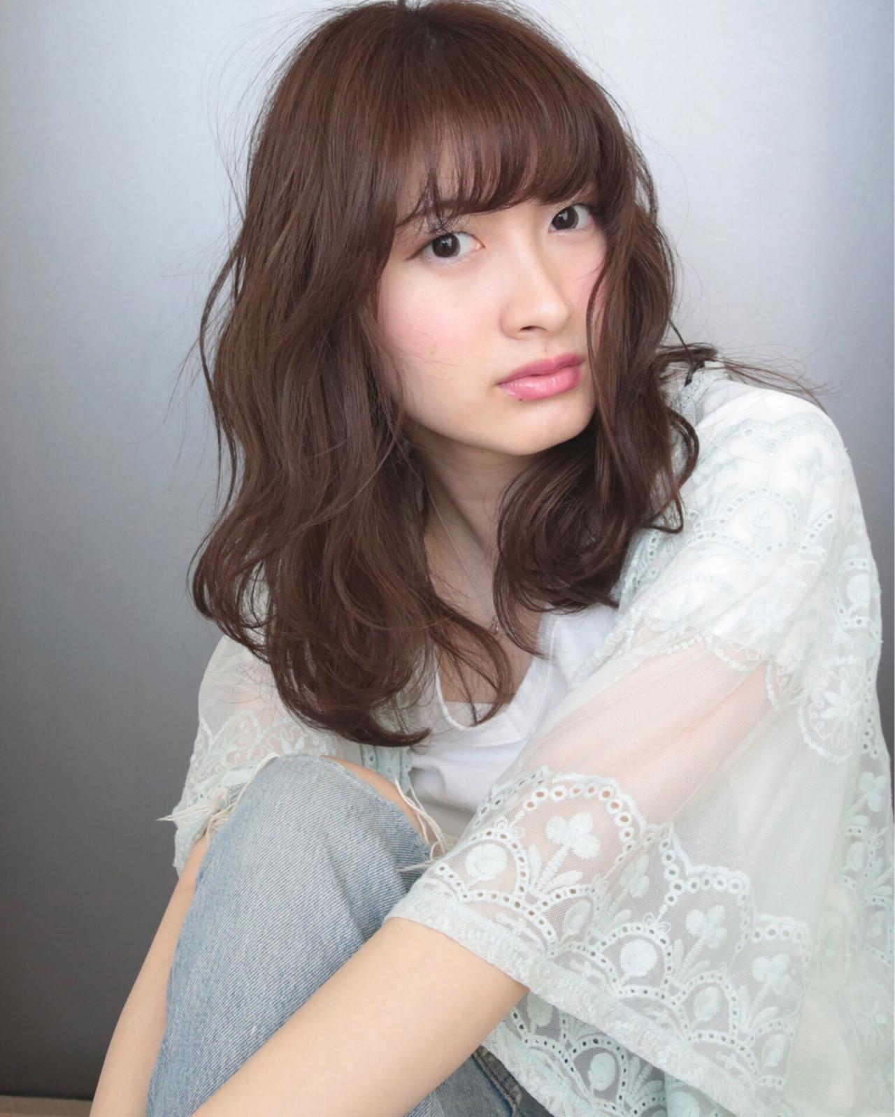 あなたに似合う前髪見つかった?オトナかわいいオシャレ前髪スタイル集♡ 岸本美咲
