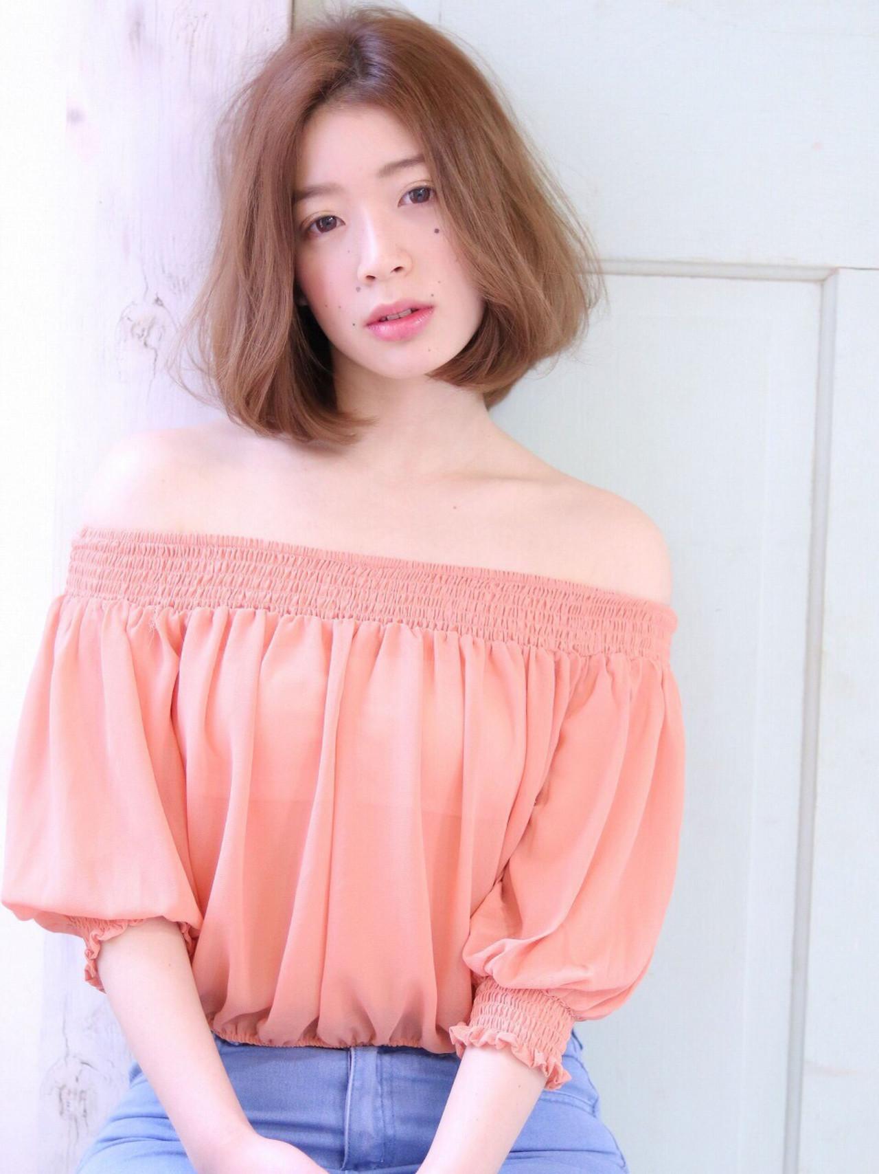 可愛くて、そして色っぽい。アラサー女子の魅力がボブスタイルで花開く SORA