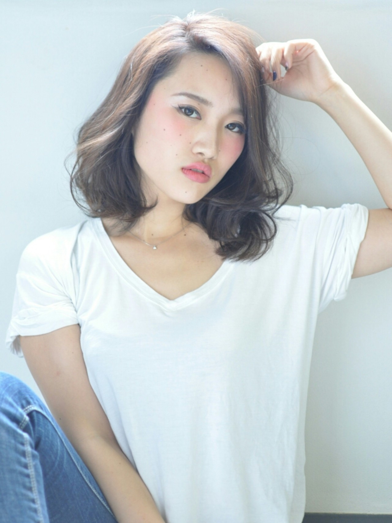 上品な色っぽ可愛さに誰もが夢中!大人女子にはAラインパーマがすてき♡ 島田 和也