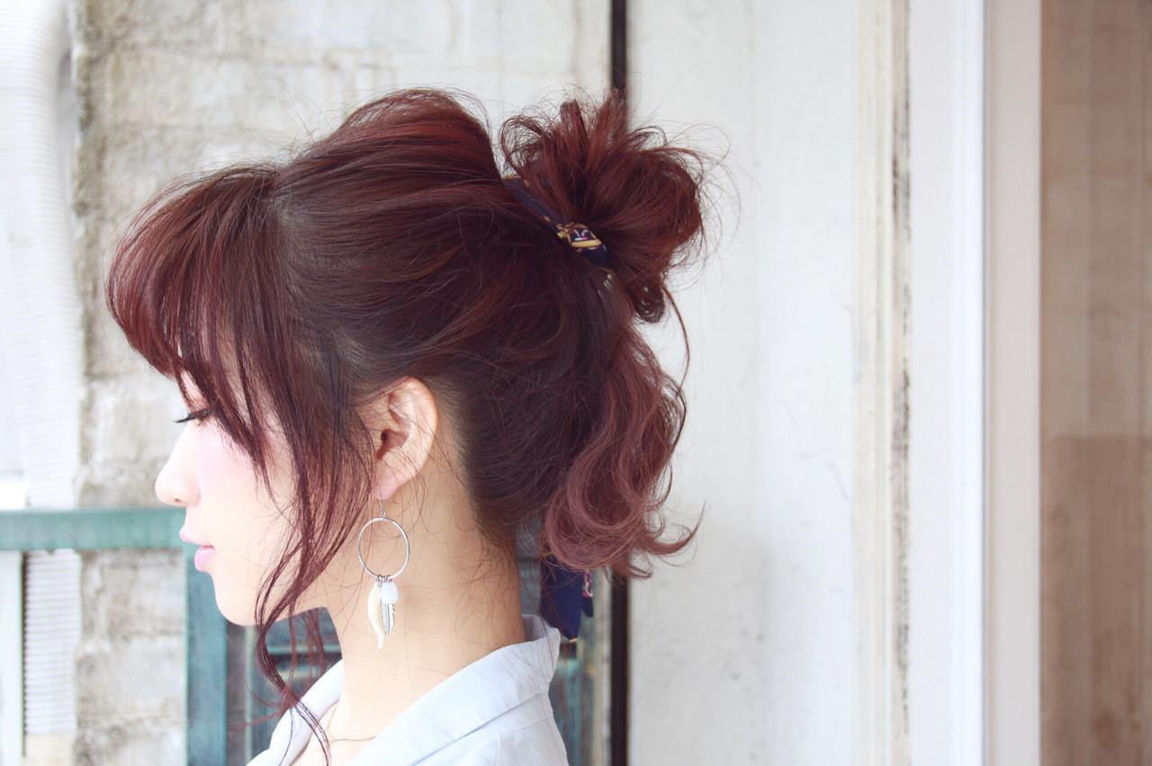 ゴムだけでできる♪お団子ヘアの簡単作り方と低め&高め別スタイル集 松谷 聖史