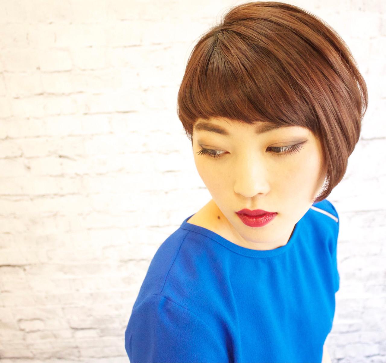 ちょっぴりイメチェンしたい時には、「アシンメトリー前髪」を取り入れて Syunichi Aokiさん