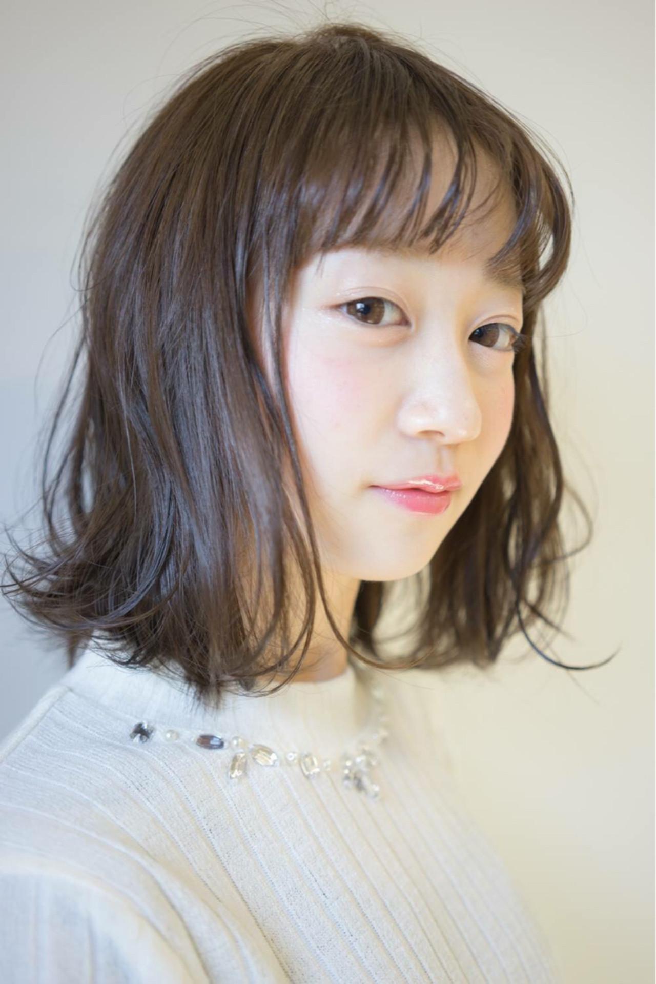 あなたに似合う前髪見つかった?オトナかわいいオシャレ前髪スタイル集♡ 桝田 由佳  vicus hair