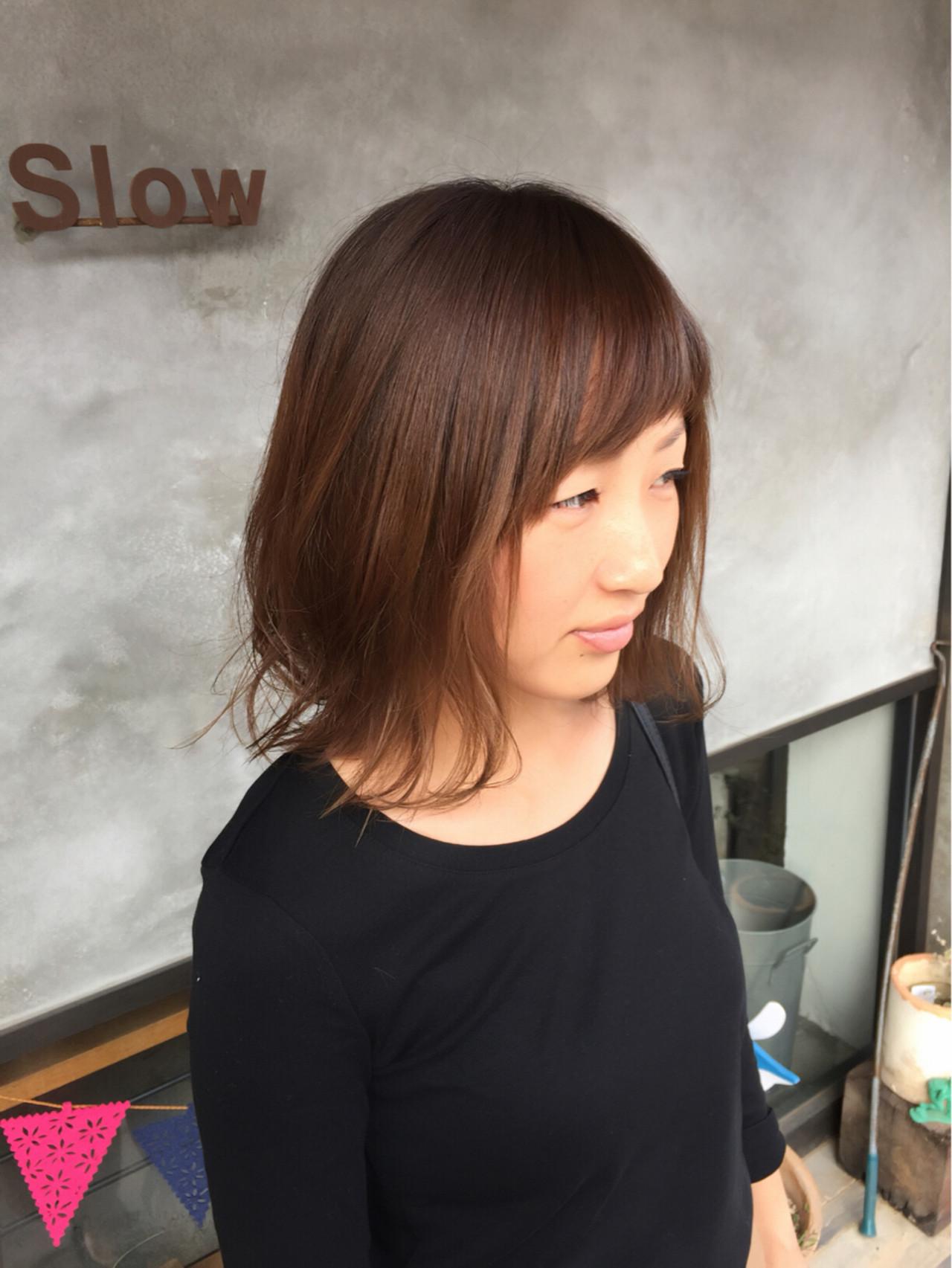 ちょっぴりイメチェンしたい時には、「アシンメトリー前髪」を取り入れて Tatsuo Arakiさん