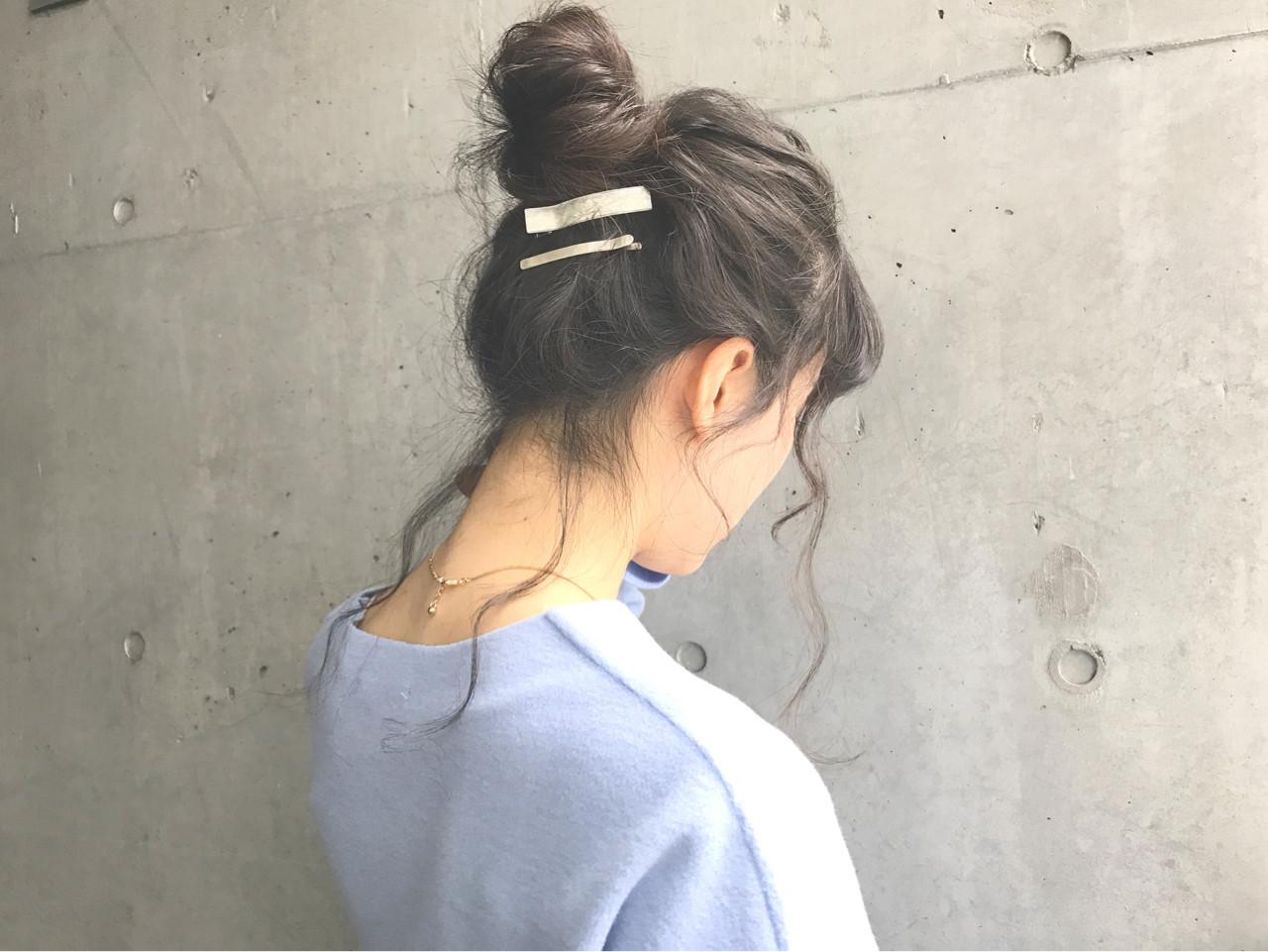 ゴムだけでできる♪お団子ヘアの簡単作り方と低め&高め別スタイル集 Spica Daichi shimazu