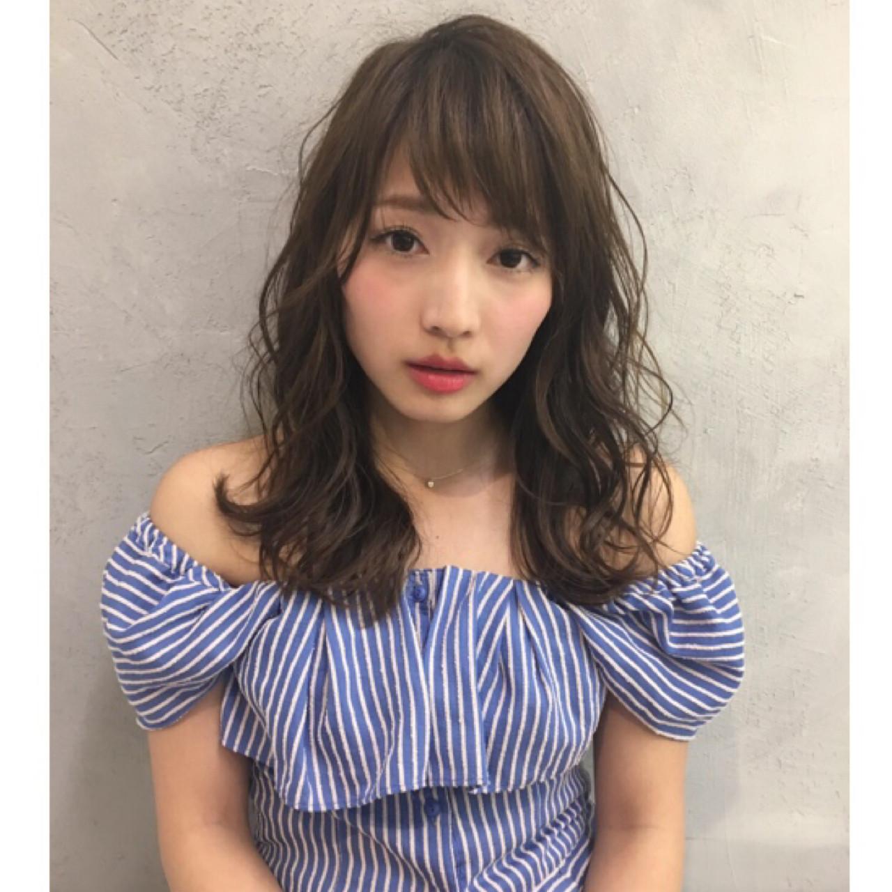 """シンプルに女子力アップ♡軽やかヘアでこなれ感を出すなら""""シースルー""""で決まり! 長江 里穂子"""