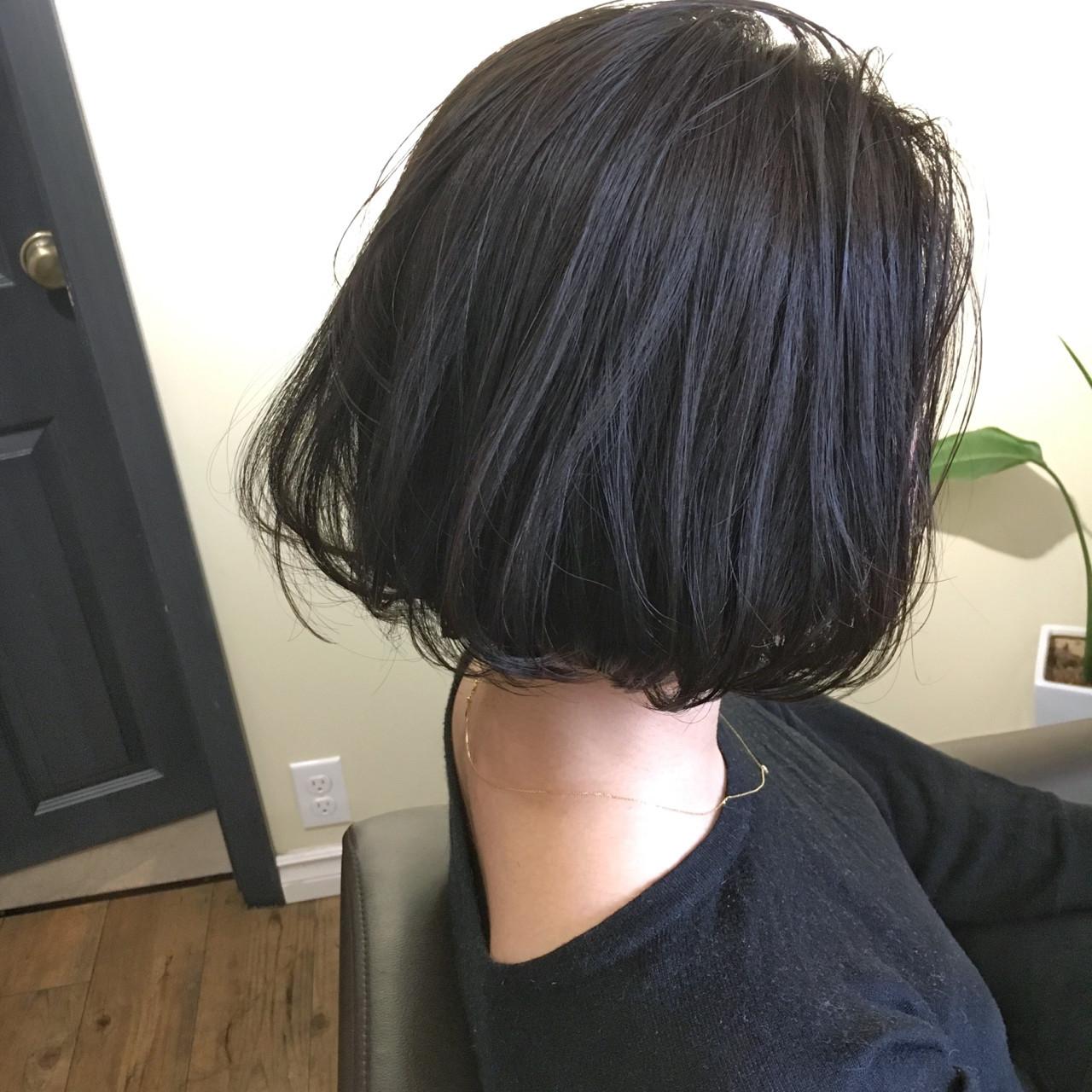 ニュアンス デート 黒髪 ナチュラル ヘアスタイルや髪型の写真・画像
