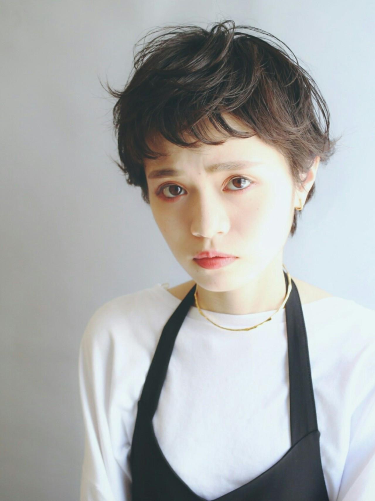 コテを使えばイメージ自由自在♪ショートの人におすすめのコテアレンジ集 Kenji Watanabe