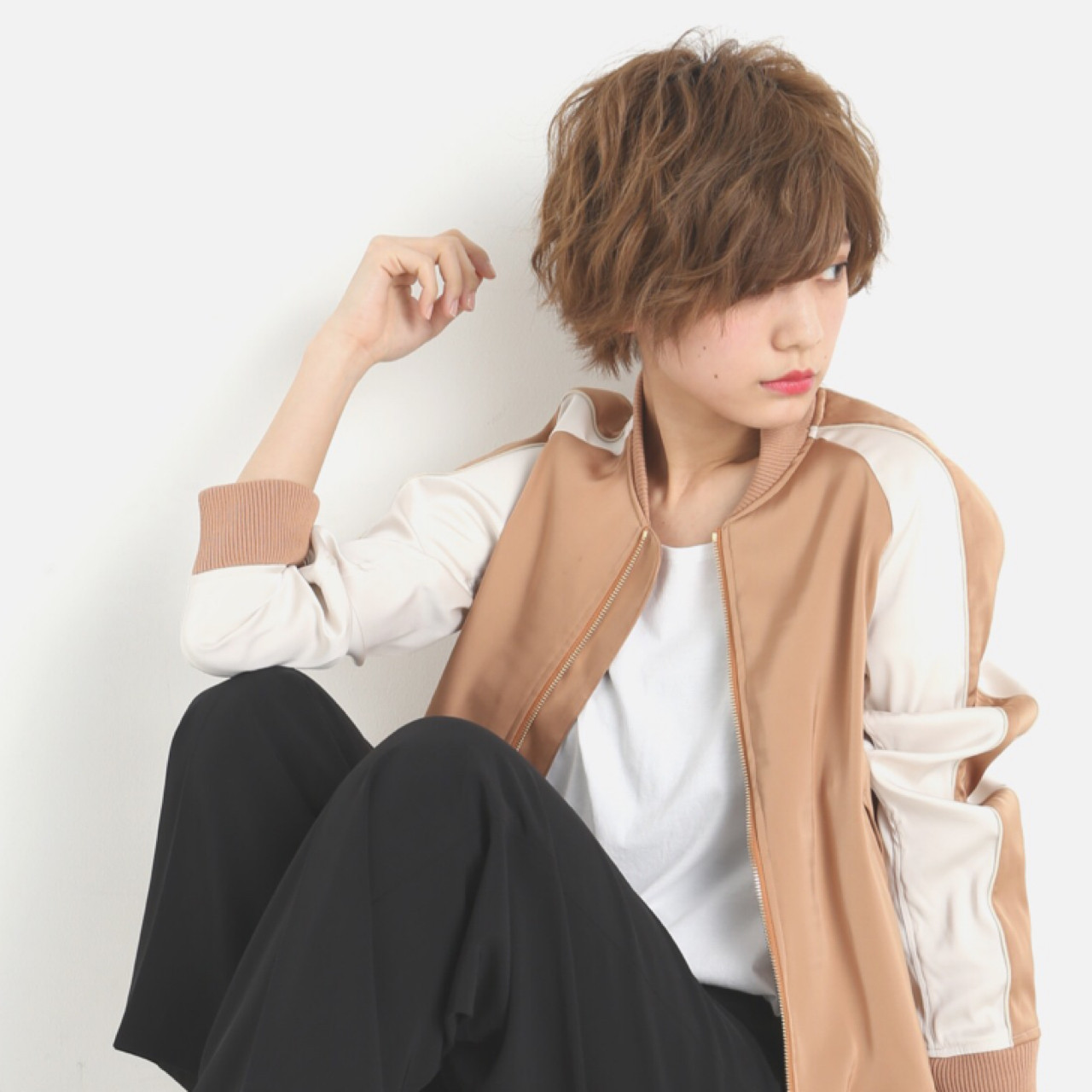 大人かわいい ストリート 外国人風 アッシュ ヘアスタイルや髪型の写真・画像