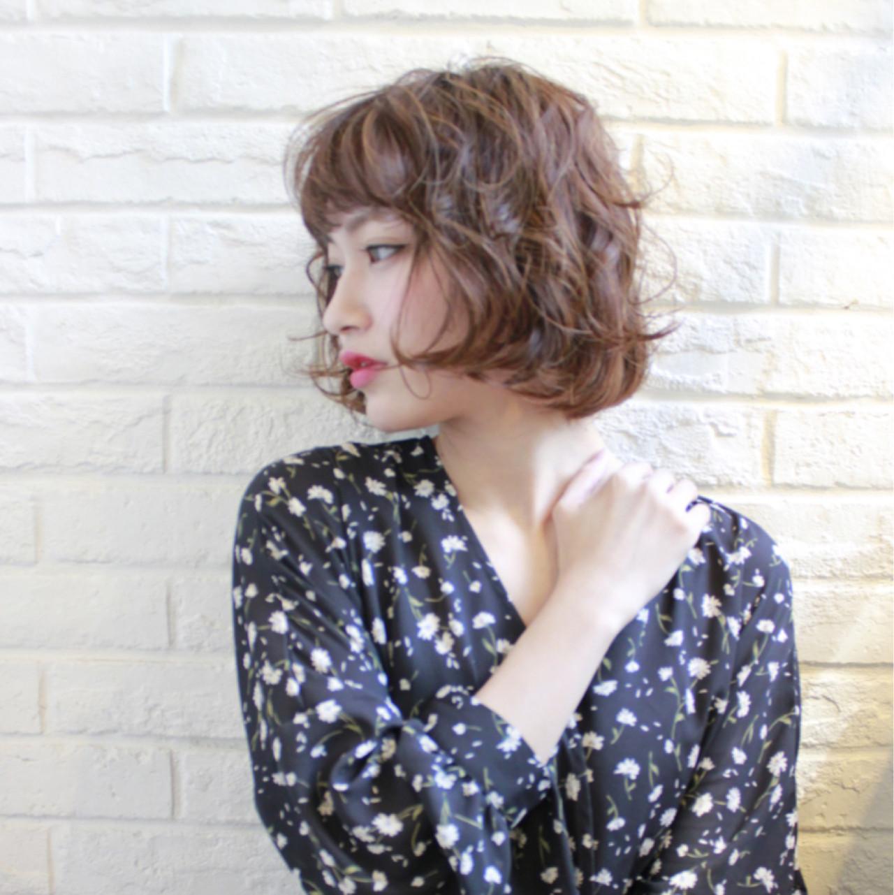 40代の魅力を最大限に引き出すヘアスタイルはボブ×パーマで決まり rejouirくさか  リジェール高辻店