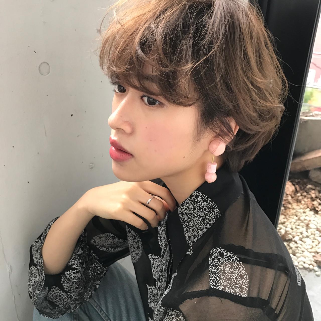 モテるショート決定版♡ふわふわで可愛いモテるショートヘアカタログ 小西敬二郎 | Heartim