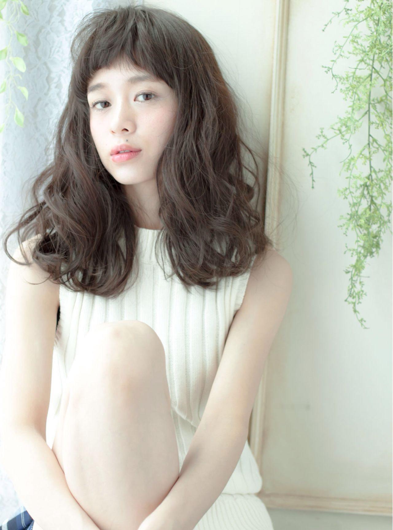 ロング 外国人風 春 モテ髪 ヘアスタイルや髪型の写真・画像