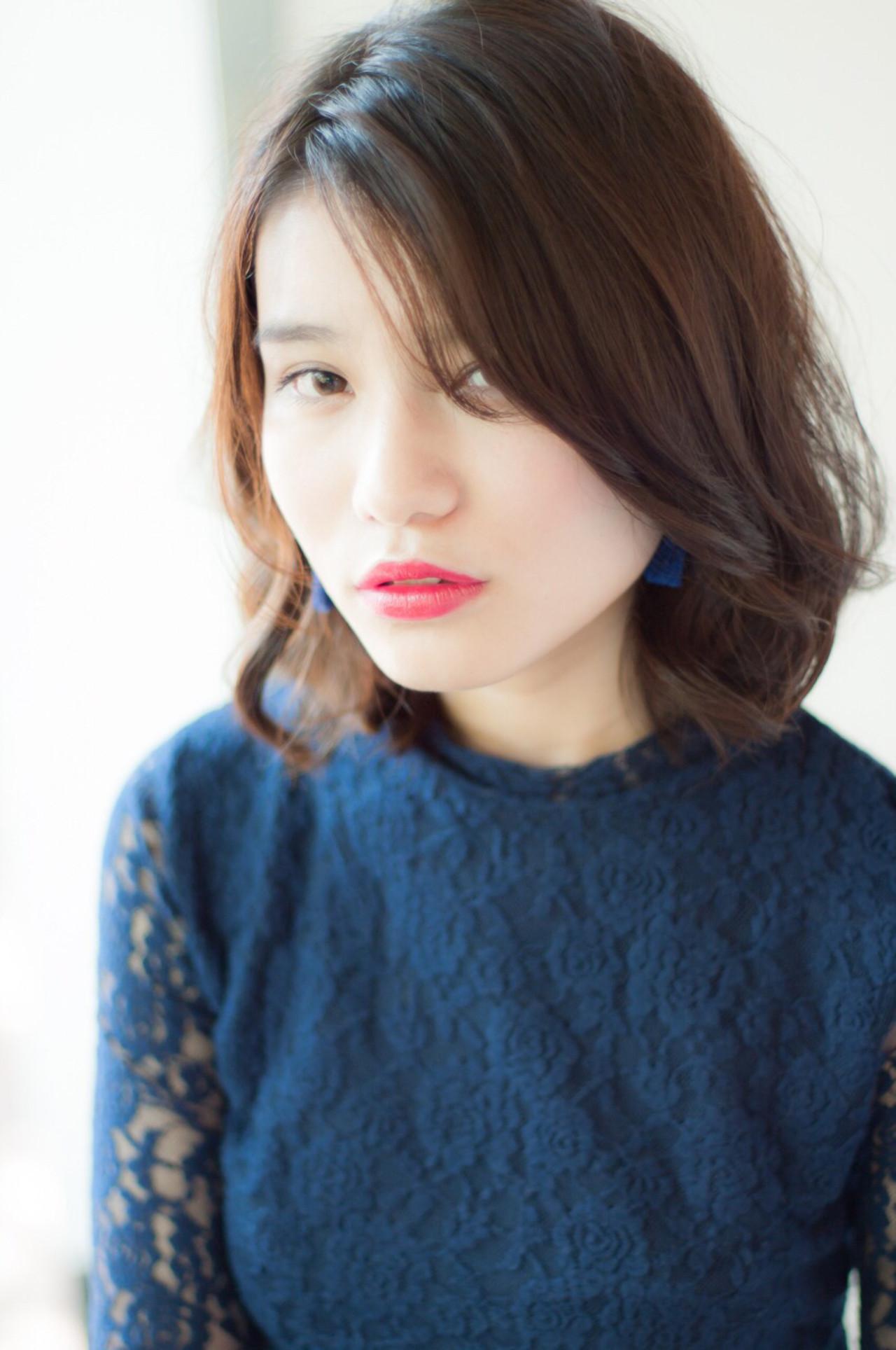 面長女子必見!面長さんに似合うオススメの髪型カタログ♡ 高田 紘希