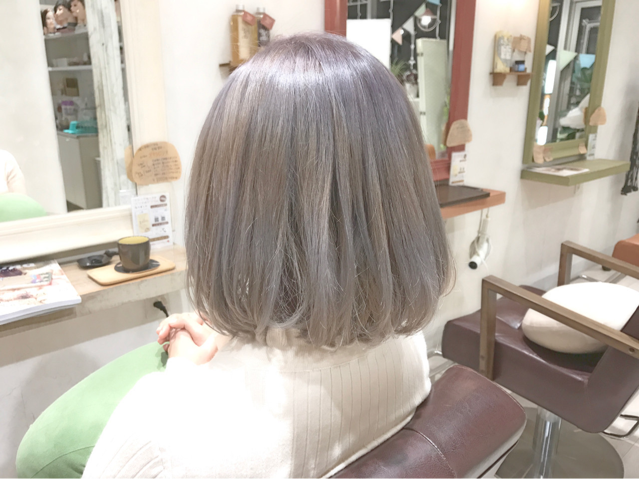 憧れの外国人風髪色!今ホワイトアッシュが最強かわいい♡  田島 史也