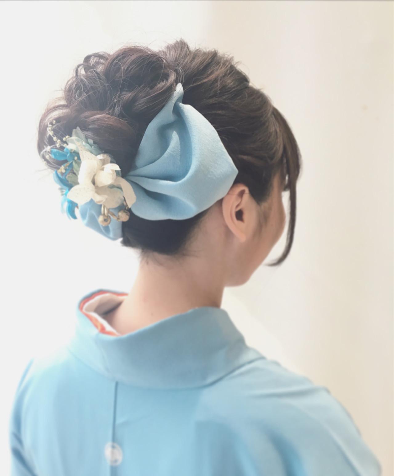 和服 ヘアアレンジ 和装 着物 ヘアスタイルや髪型の写真・画像