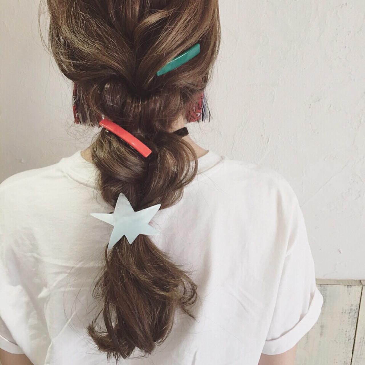 逆りんぱ ショート ロング 三つ編み ヘアスタイルや髪型の写真・画像