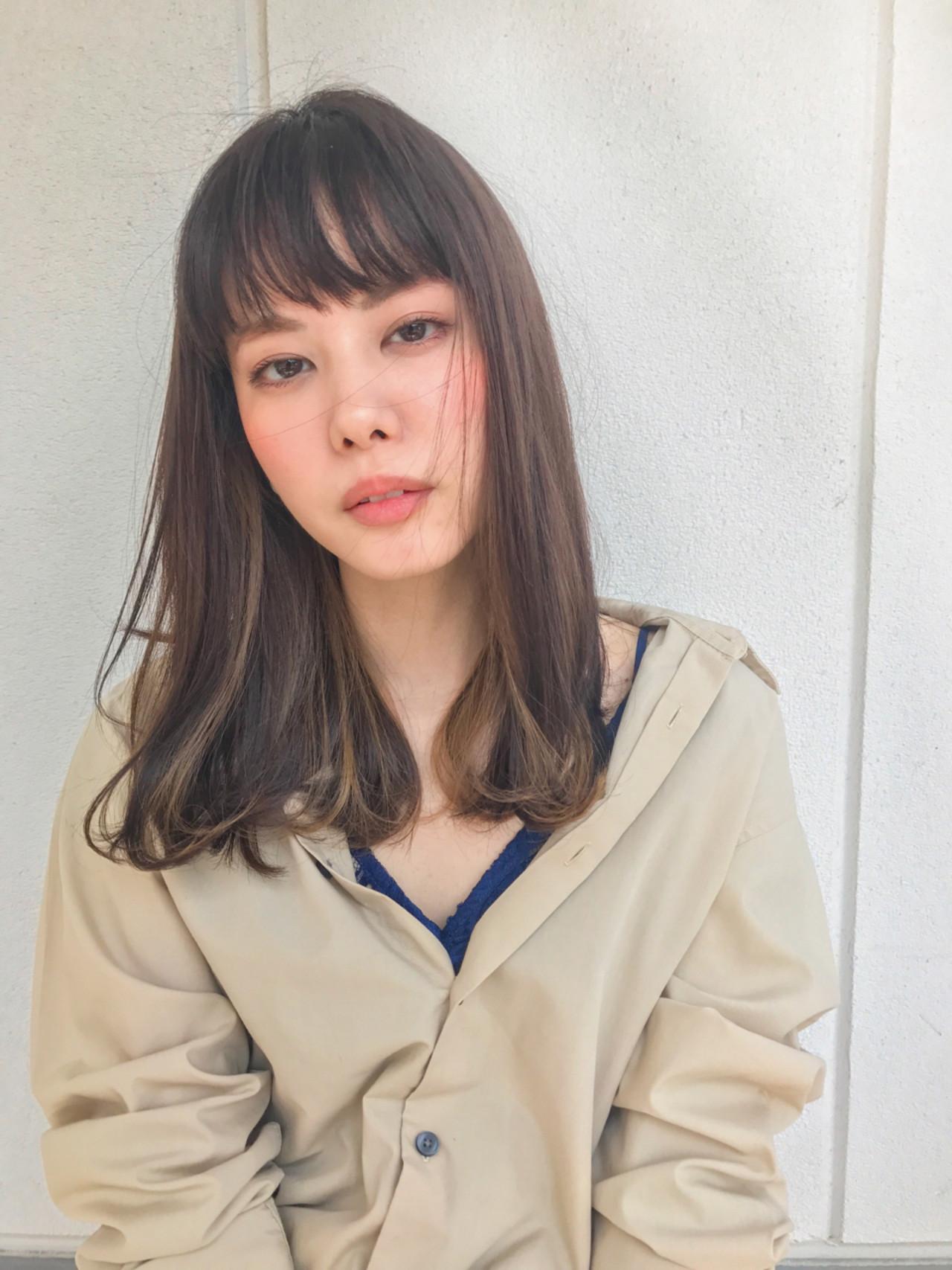 黒髪メッシュで周りと差をつける!マネしたくなるトレンドスタイル♡ Grow by GARDEN 細田