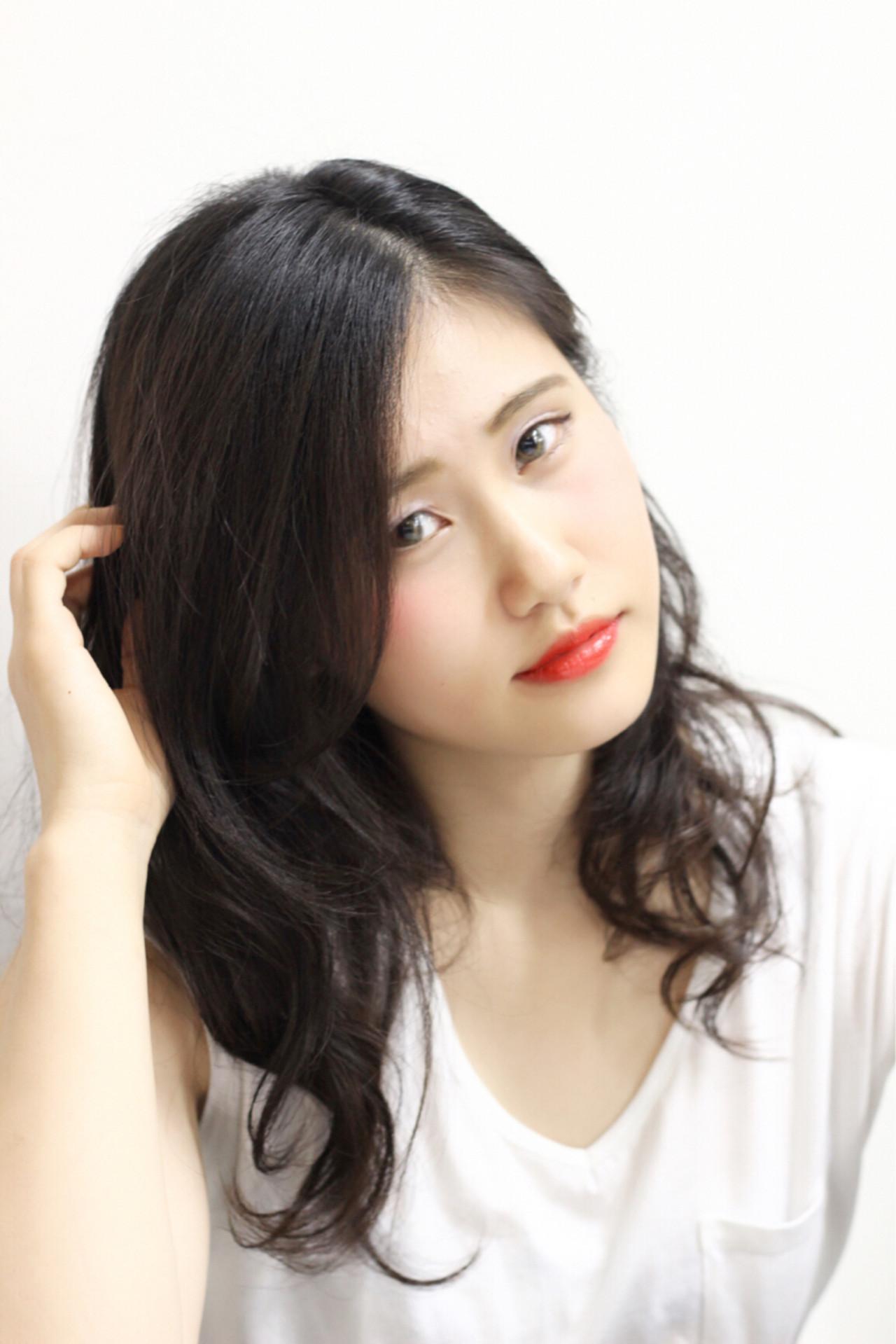 大人かわいい 外国人風 ナチュラル 大人女子 ヘアスタイルや髪型の写真・画像