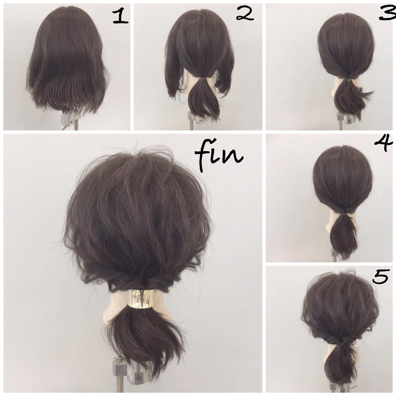 ショートやボブでもたくさん楽しめるヘアアレンジ10選♡ 新谷 朋宏  Free hairstylist shinya
