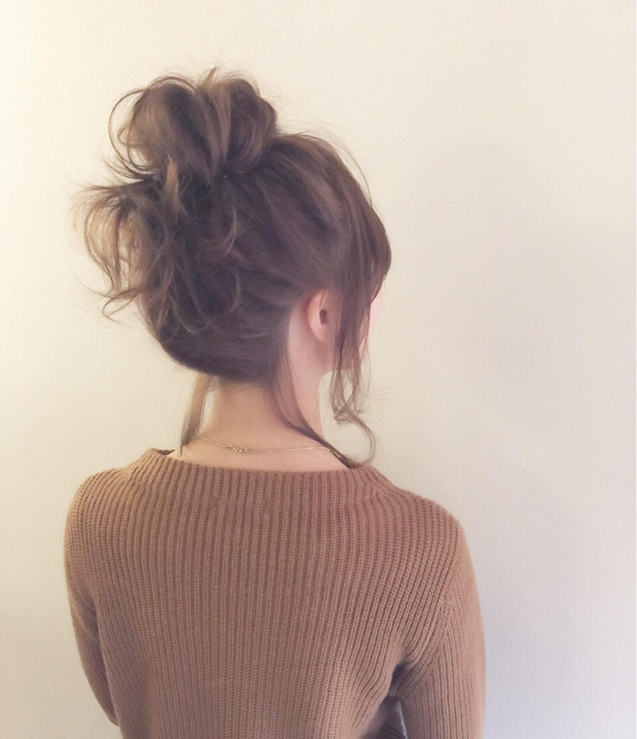 毎日のヘアスタイルに変化を!アップアレンジでおしゃれ度もアップ♡  高瀬 功二