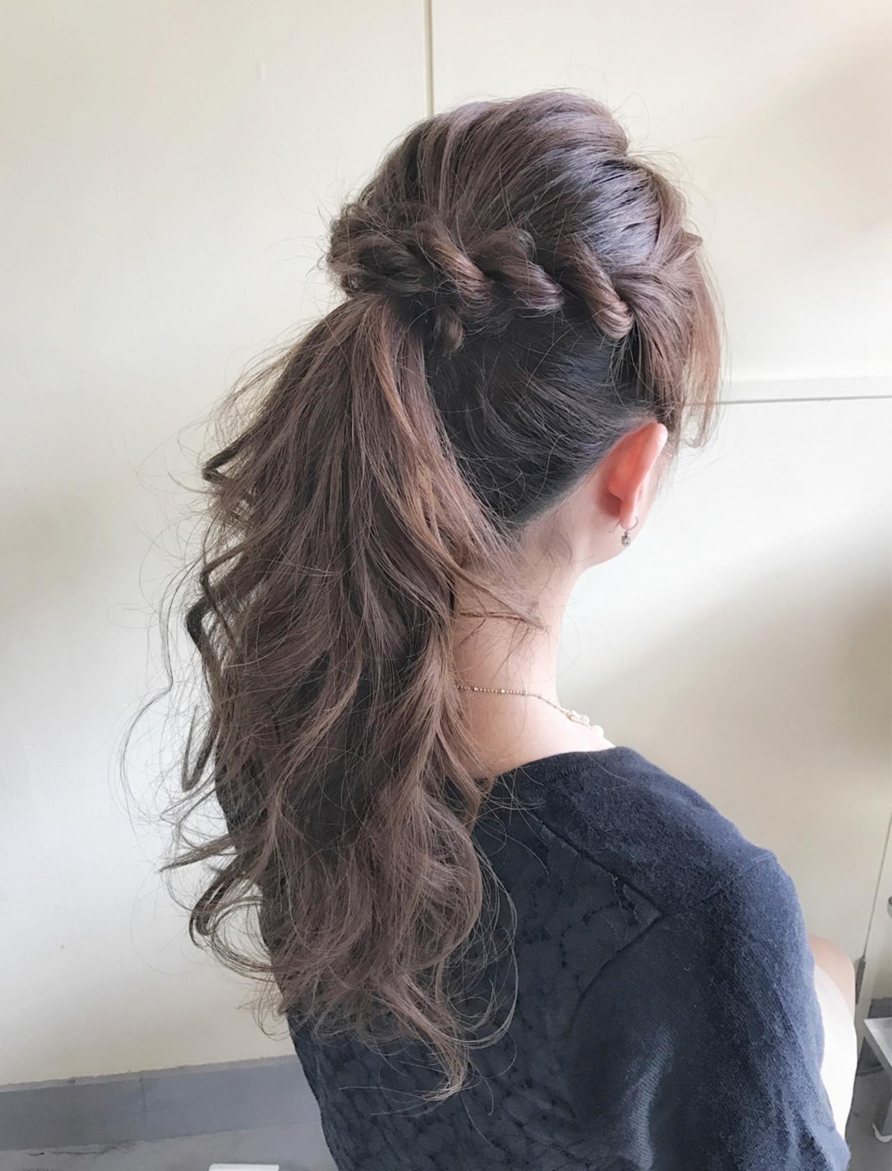 毎日のヘアスタイルに変化を!アップアレンジでおしゃれ度もアップ♡  サワ