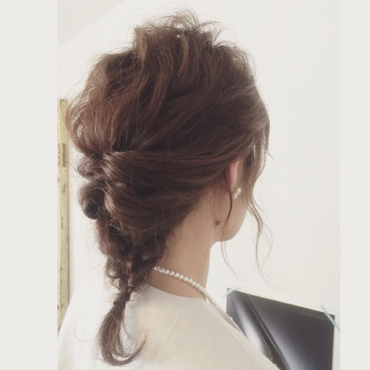 もう迷わない!結婚式にお呼ばれされたらトライしたい髪型アレンジ! YUKO KAWANO