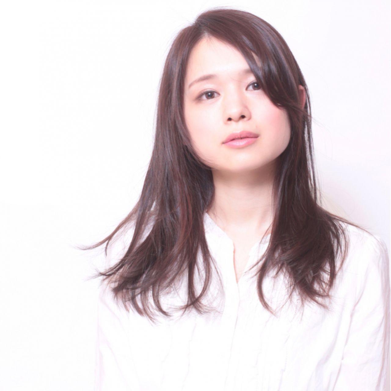 面長女子必見!面長さんに似合うオススメの髪型カタログ♡ 中嶋康智