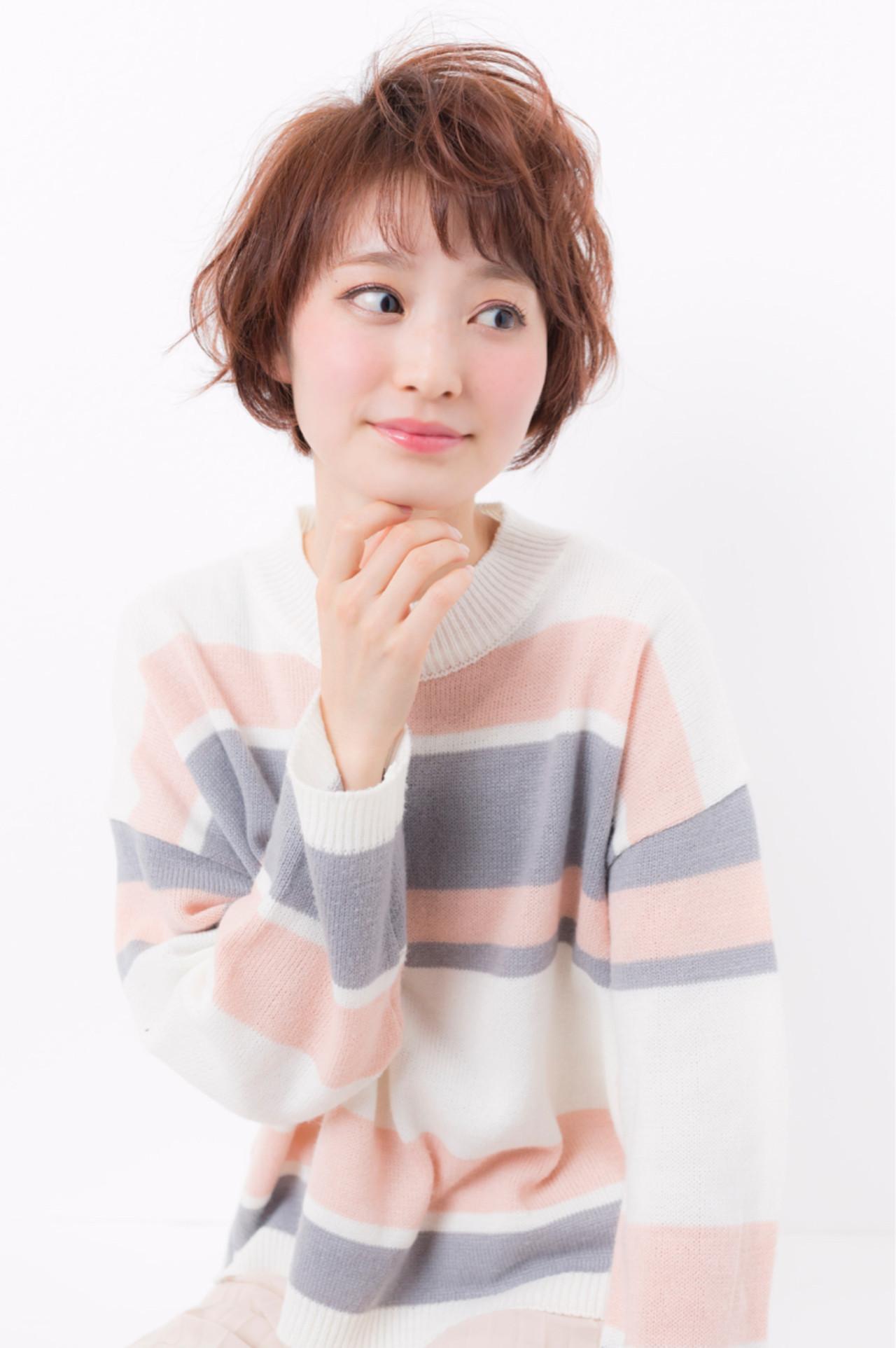 """旬の""""抜け感""""でつくるショートヘアスタイルコレクション♡ 國分世展  リベラル"""