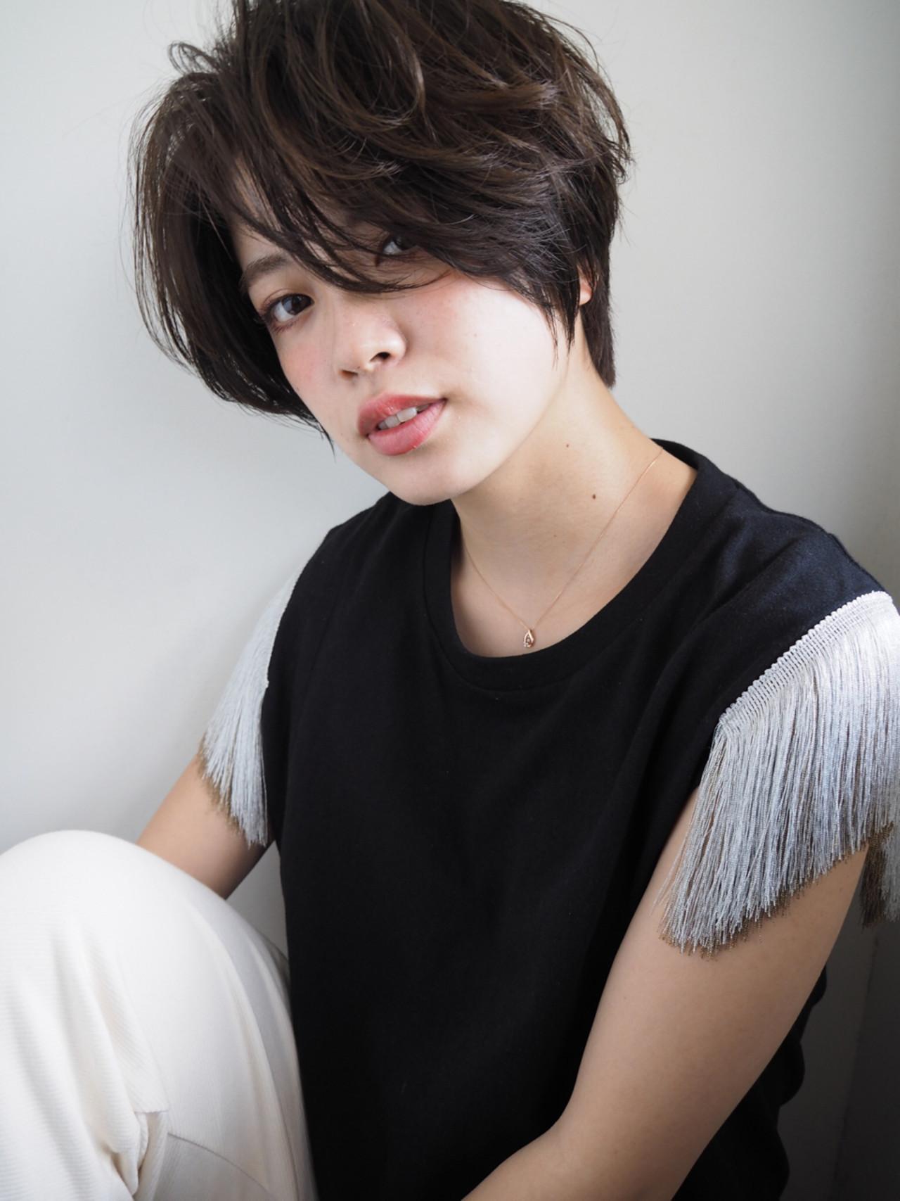 2017年も人気続行!ショートの髪色はアッシュカラーで抜け感を狙おう Keiichi Suzuki