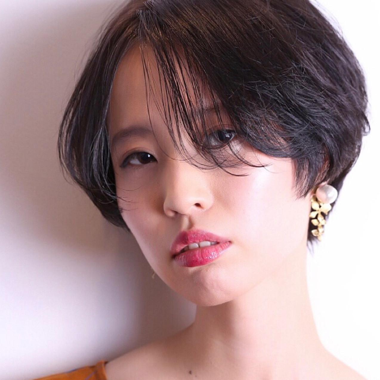 クールだけど女っぽい♡黒髪×前下がりボブヘアカタログ10選